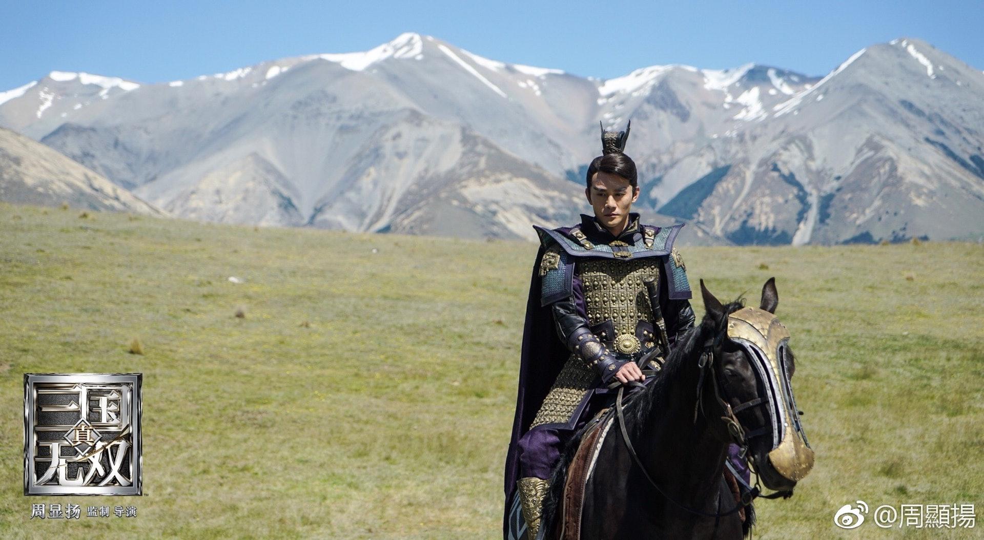 飾演曹操的王凱霸展現霸氣一面。(網上圖片)