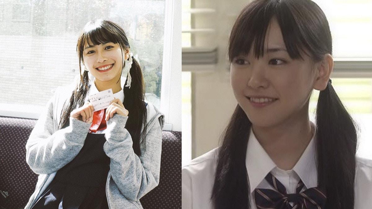 龍夢柔 上海女大學生龍夢柔(左)的造型打扮激似日本藝人