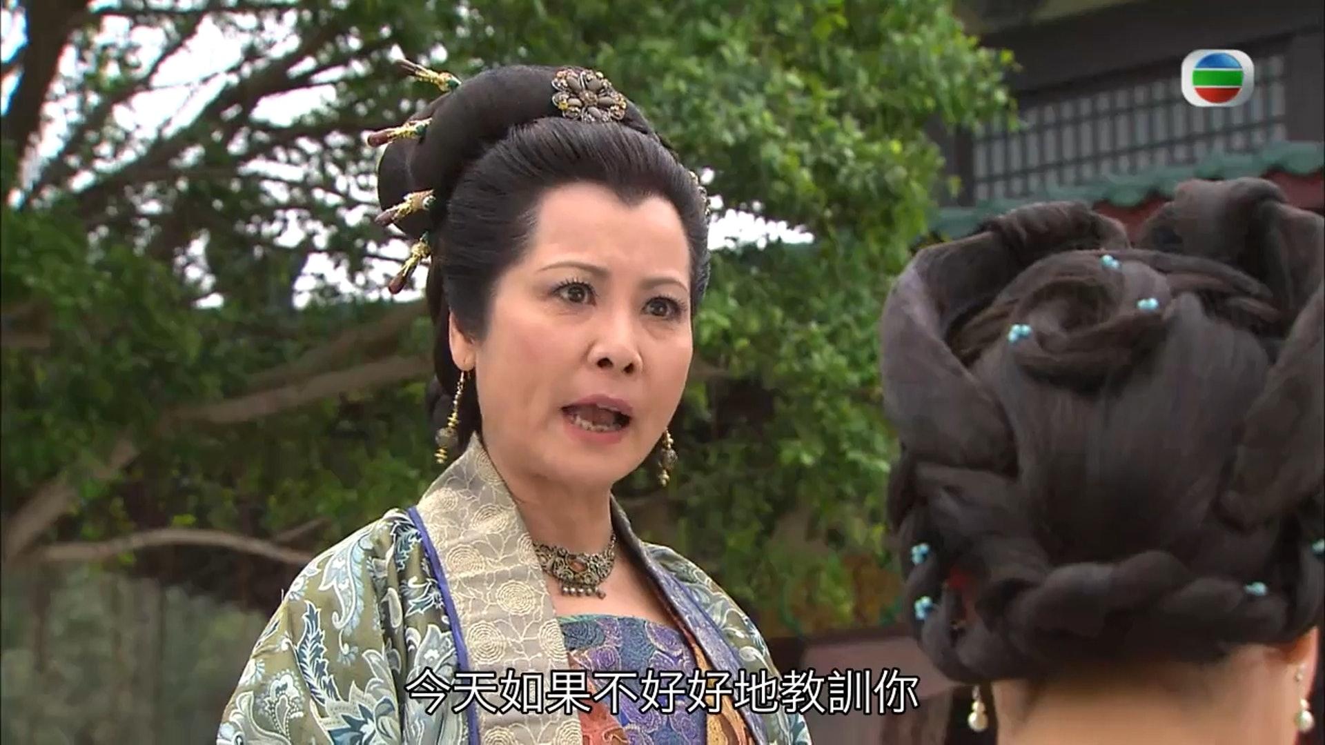 李麗麗在《宮心計》內飾演徐媽媽。(《宮心計》截圖)