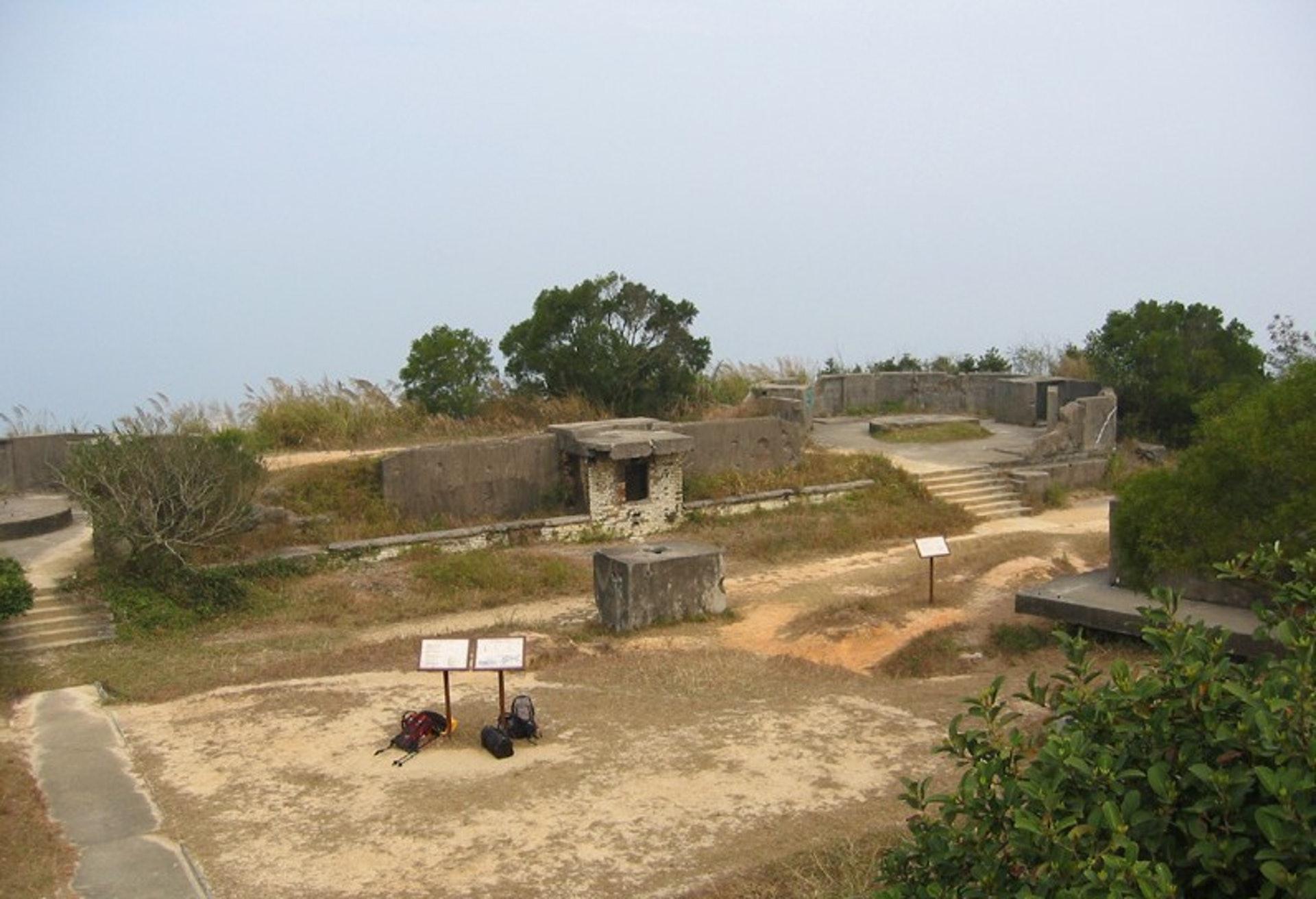 松林廢堡已建成差不多一個世紀,絕對是香港其中一個歷史遺跡。