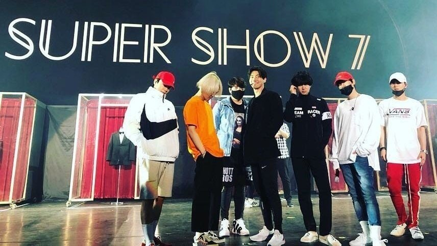 銀赫@Super Junior唔綵排《SUPER SHOW 7》? 化身觀光客周街玩