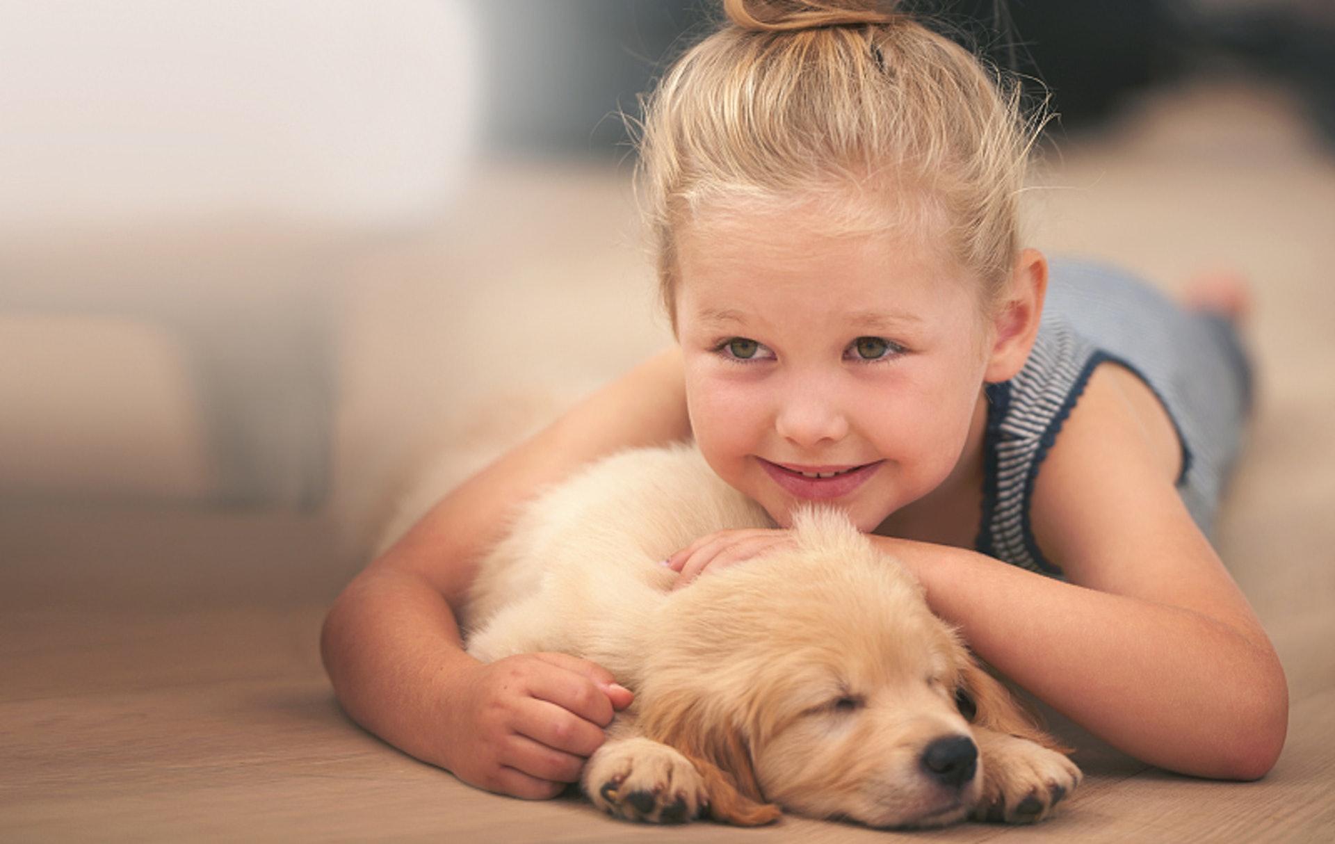 許多狗狗更是陪伴小主人一起成長,那份深厚的感情,不是一般人可以明白。(VCG)