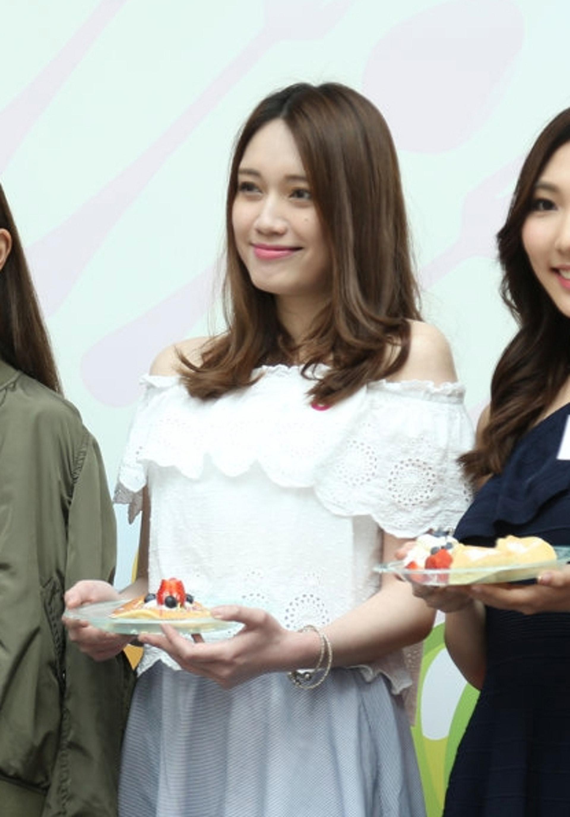 Haley Chan -來頭唔細,係香港珠寶小姐。(黃國立攝)