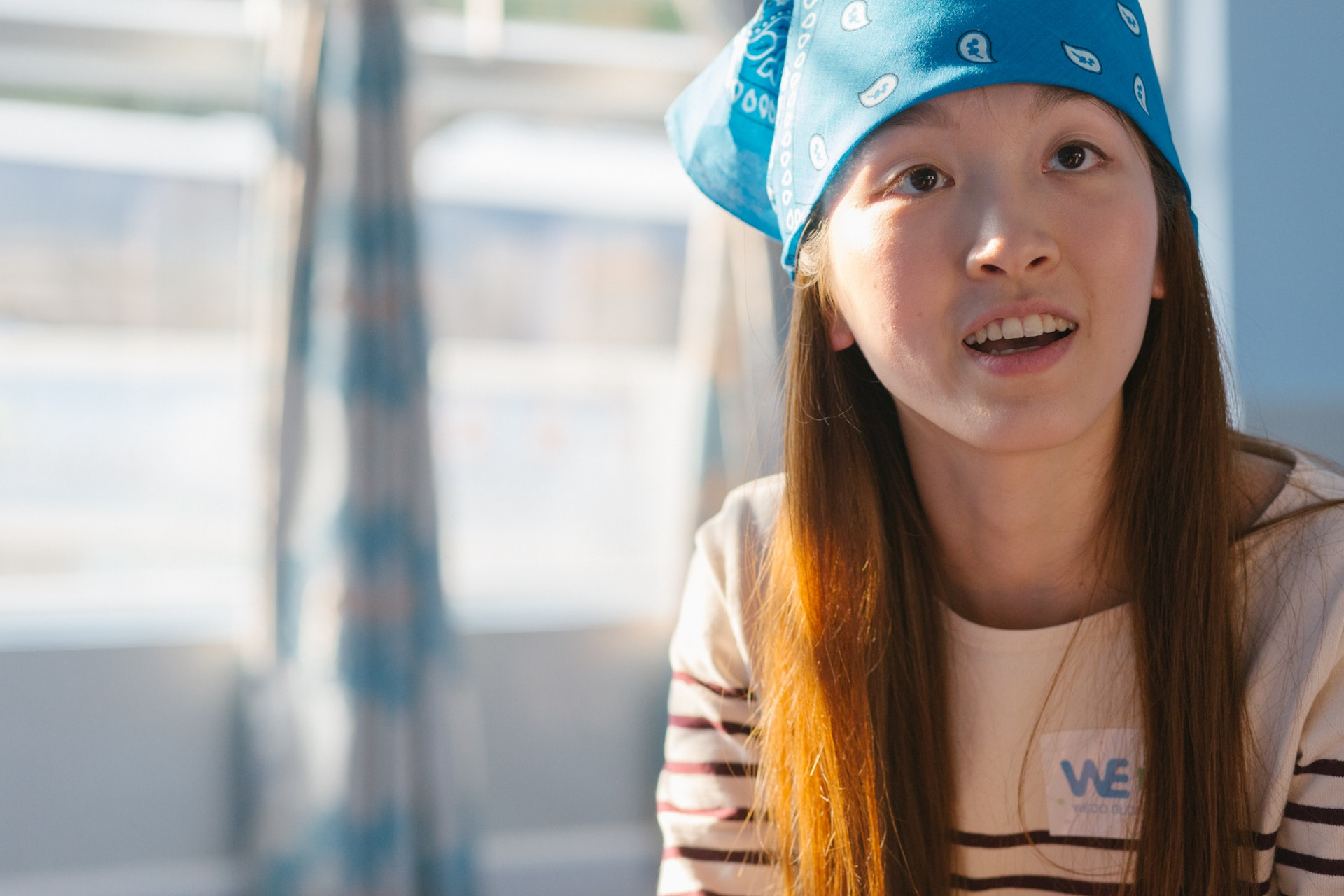 Eva希望透過WEDO GLOBAL令彼此做到文化交流,不只是本地人學習少數族裔文化,相對地少數族裔亦會學習中國傳統文化。(陳嘉元攝)