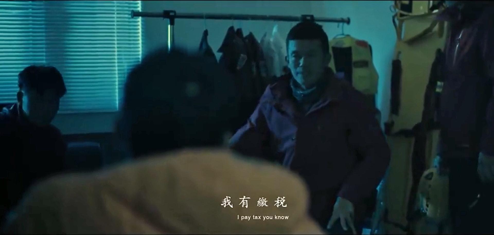 台中市消防局製作微電影《聽見山域求救的聲音》,提醒市民注意登山安全,但被部分網民批評「恐怖」。(《聽見山域求救的聲音》截圖)