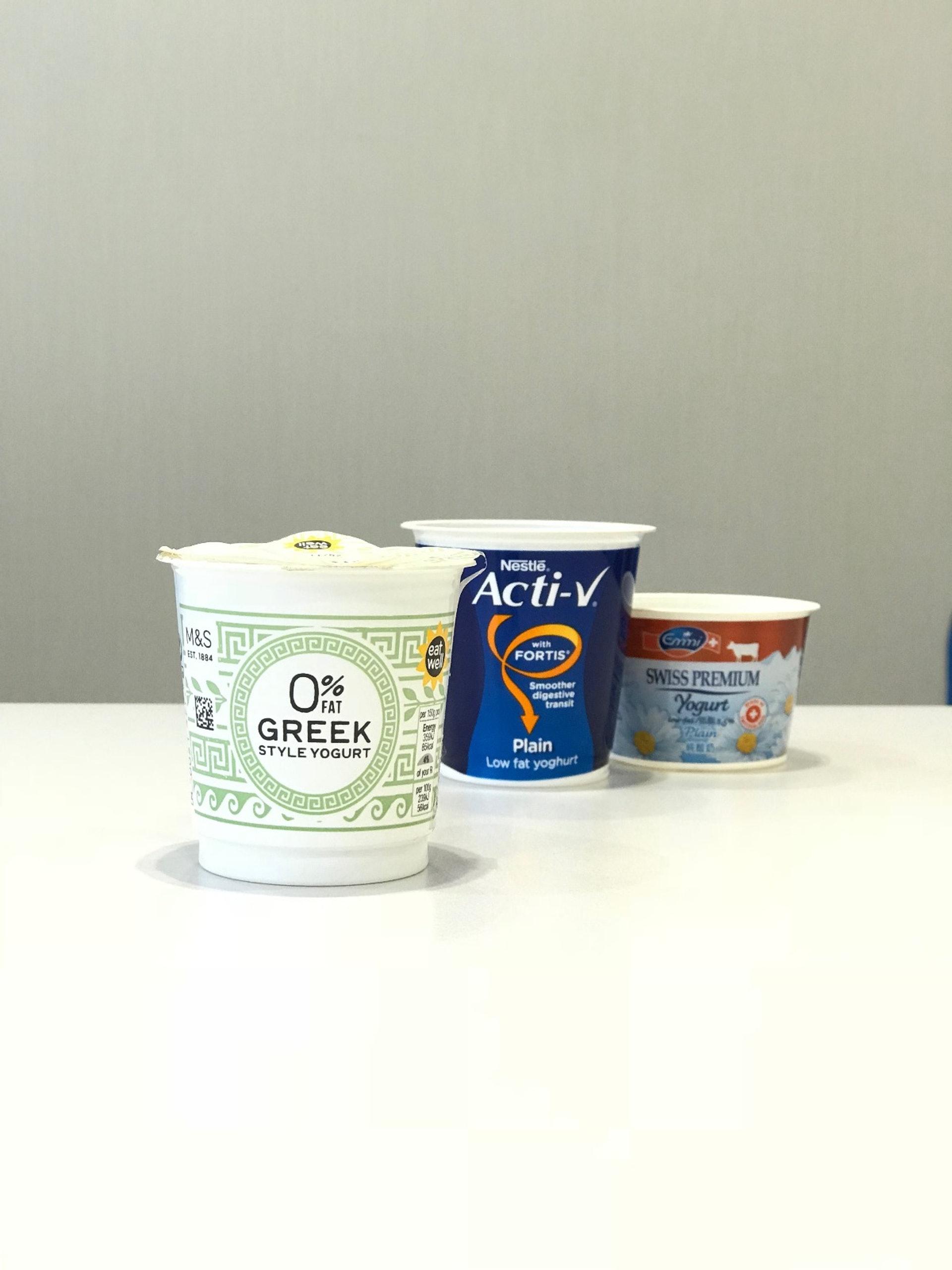 食用份量的脫脂乳酪大約80千卡,脂肪則1克。(受訪者提供)