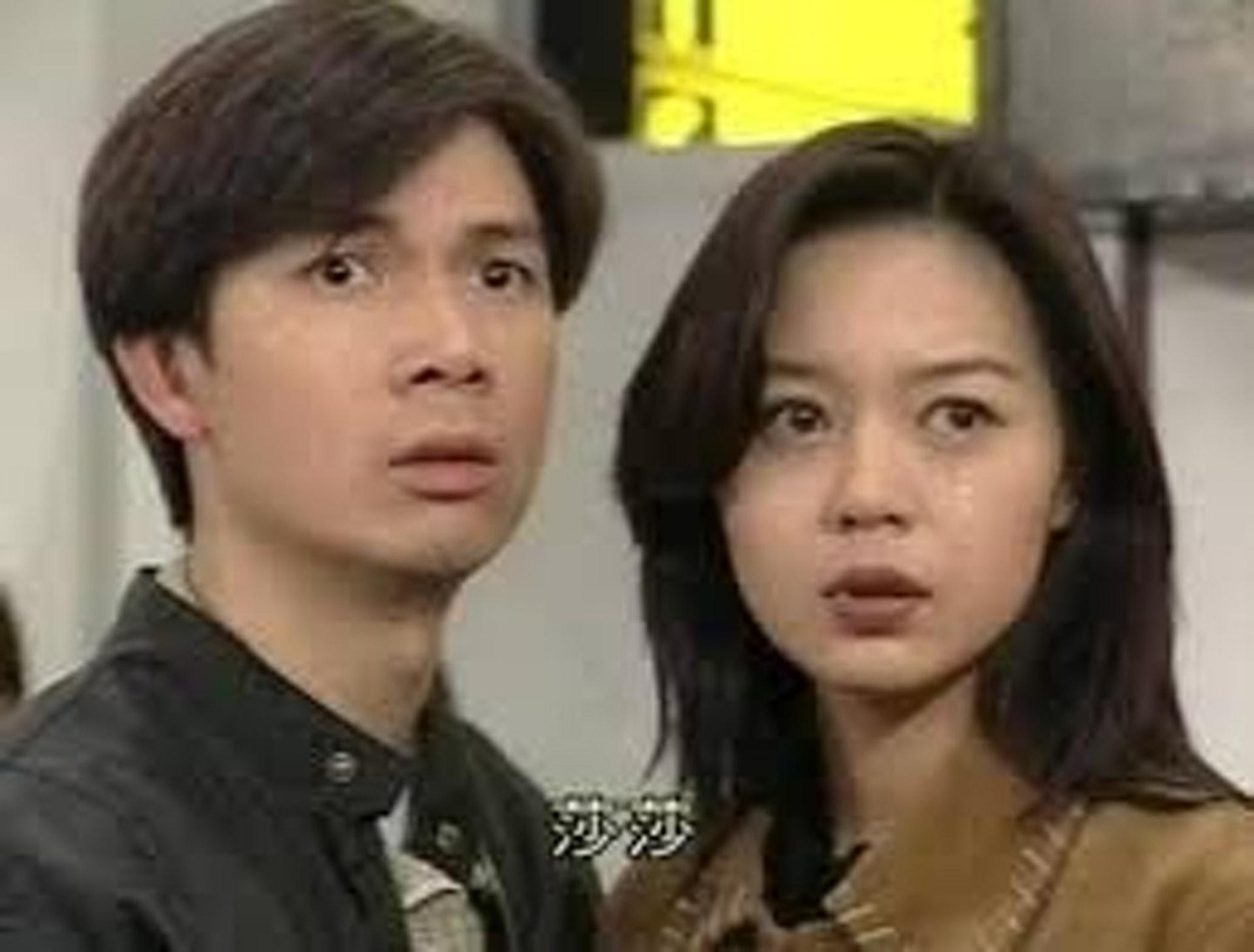 第3輯《刑偵》中,梁榮忠跟鍾麗淇假戲真做成為戀人。(網上圖片)