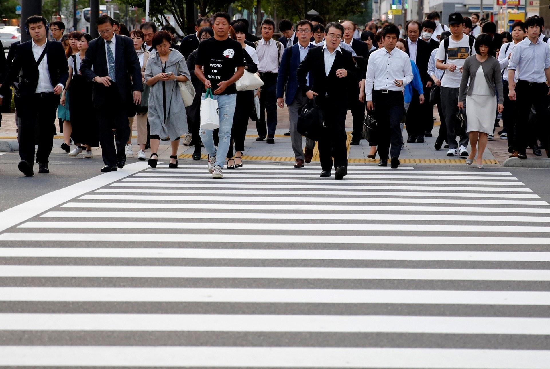 日本政府有意吸納更多外勞,但有意見指當地人較抗拒。(路透社)