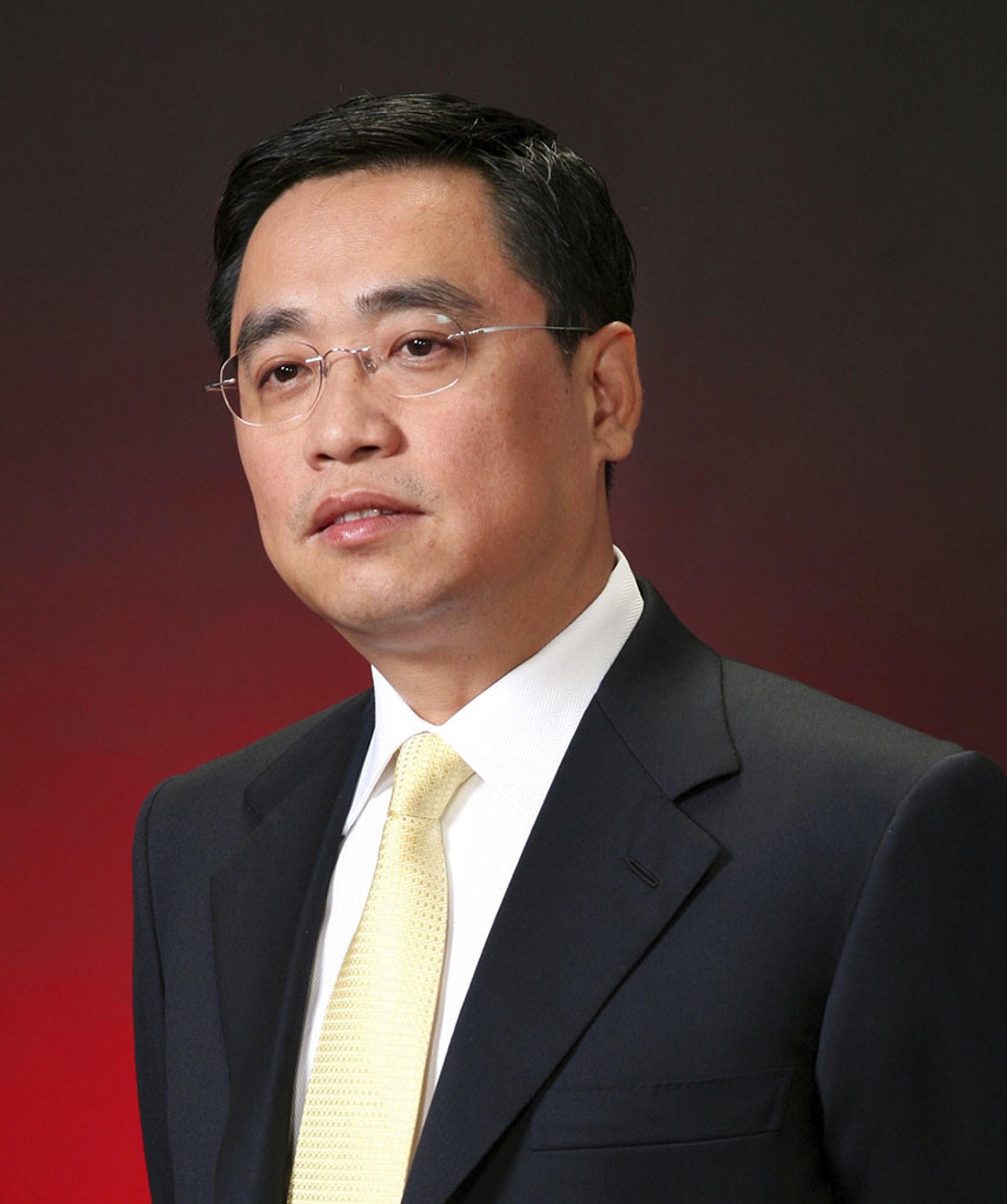 海航�合���k人、董事�L王健在法��意外身亡,震�@各界。(美�社)