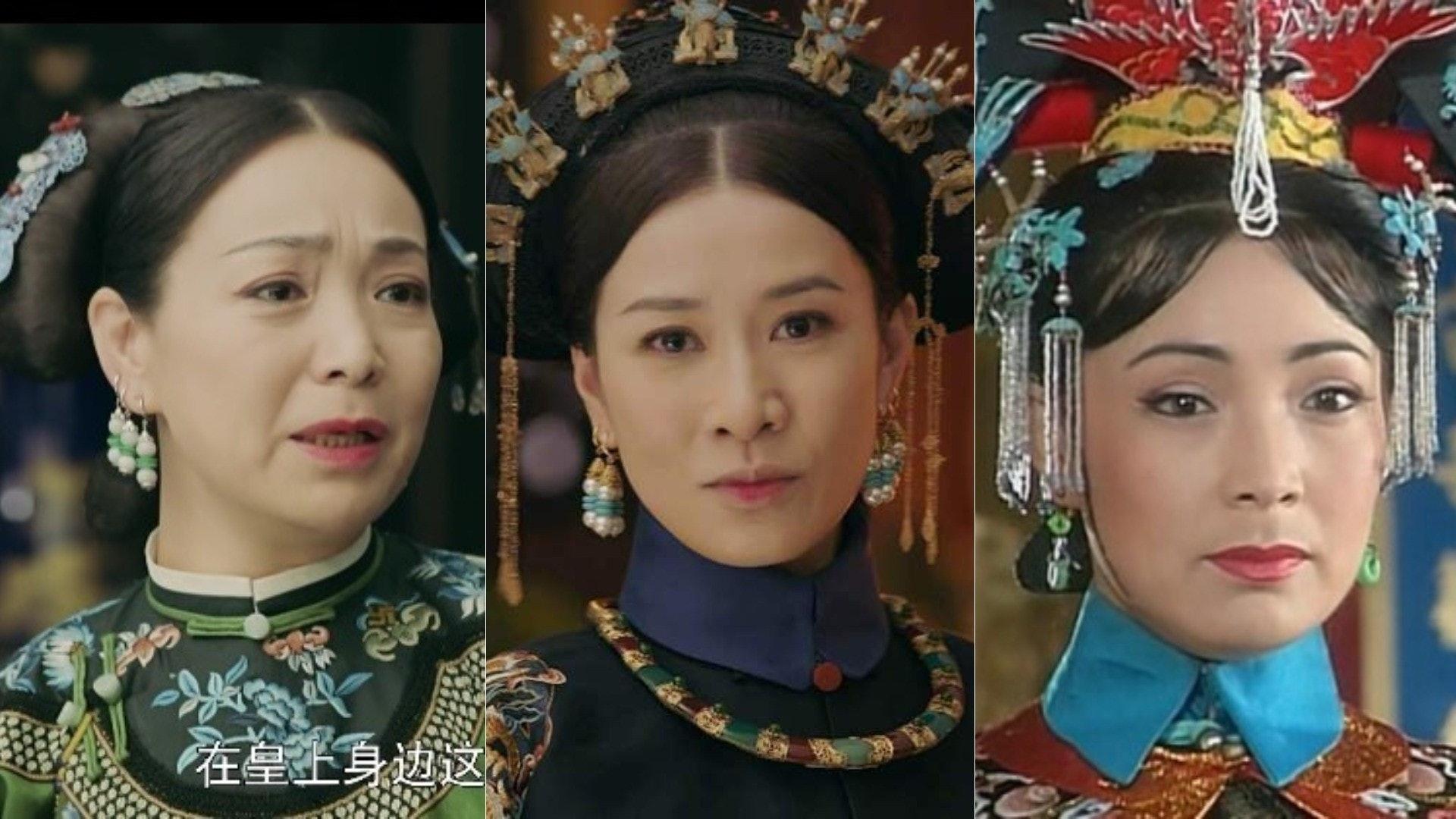 在《還珠格格》中,扮演皇后的戴春榮,相隔20年,在《延禧攻略》中扮演嫻妃的媽媽,令人不禁將兩套劇串聯起來。(網絡圖片)