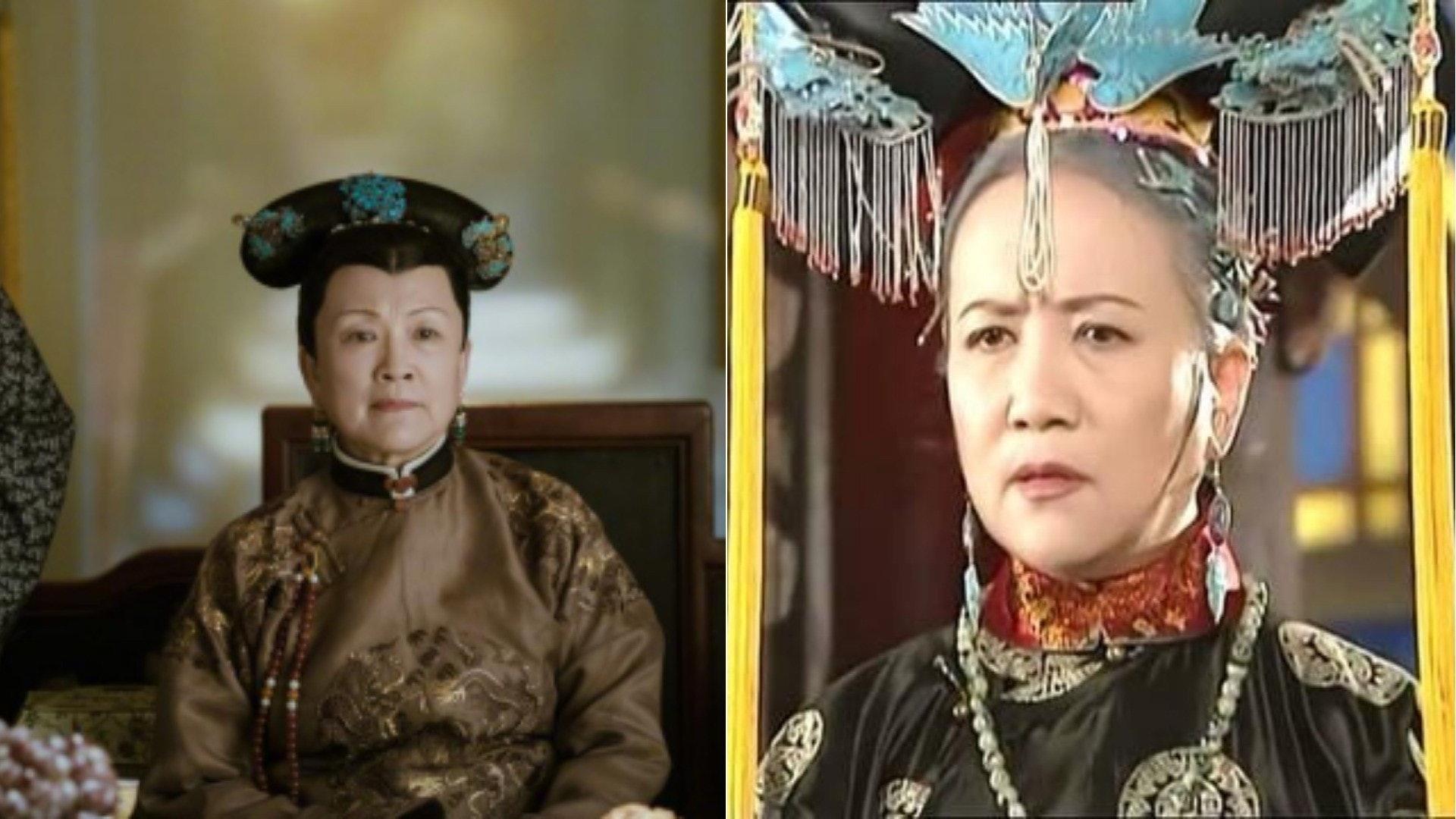 《延禧攻略》中的崇慶皇太后即是《還珠格格》中的老佛爺,《甄嬛傳》中的甄嬛,有網友表示,甄嬛自己宮鬥完,就開始管理「家務事」。(網絡圖片)
