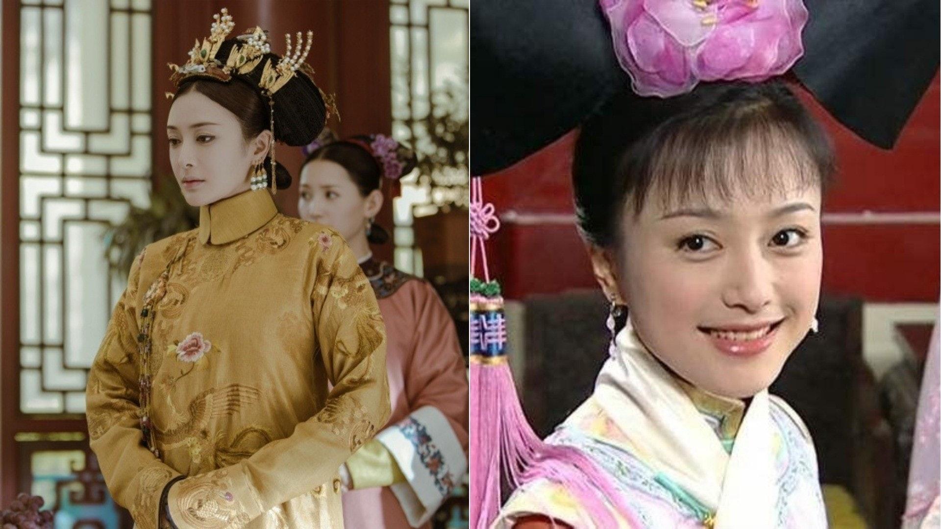 秦嵐因飾演《還珠格格3》的「知畫」一角被大眾熟悉,今次在《延禧攻略》中扮演一代賢后富察皇后,與乾隆譜寫戀曲。(網絡圖片)