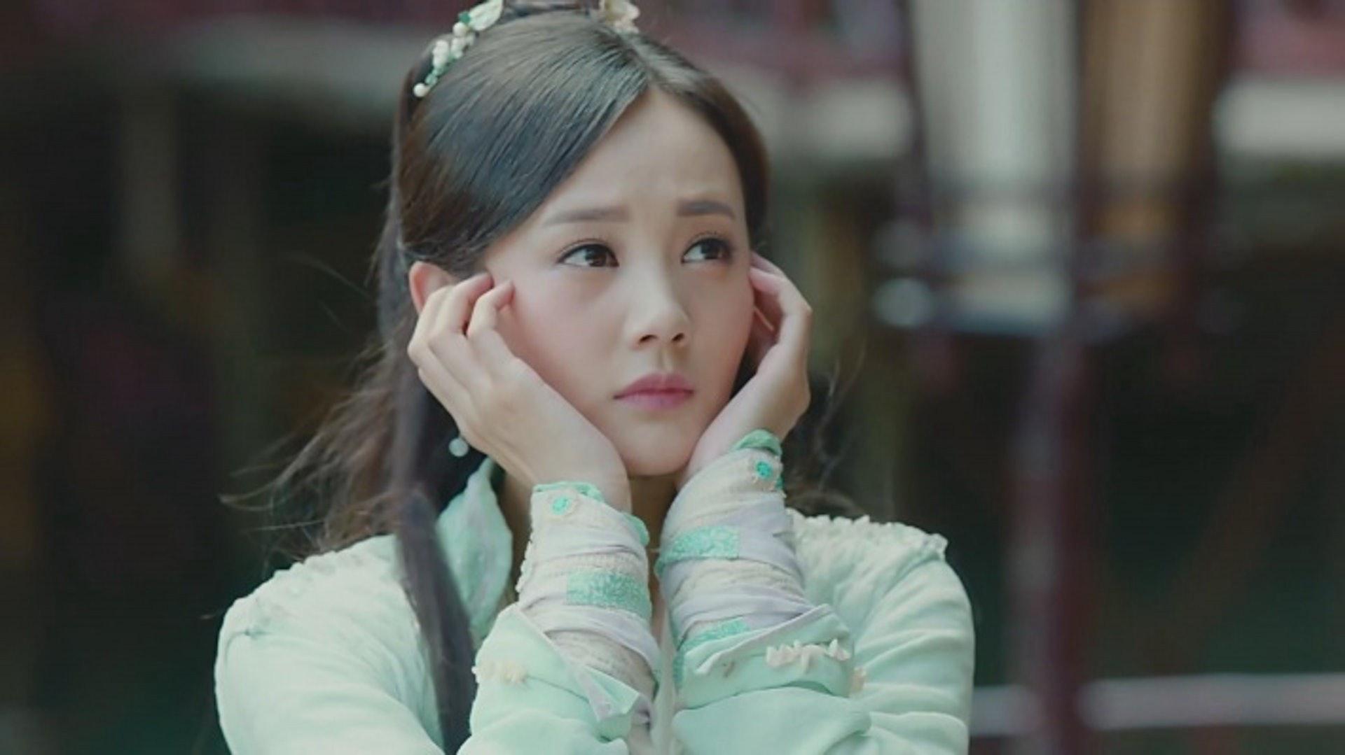李一桐飾演黃蓉令她大受歡迎。(網上圖片)