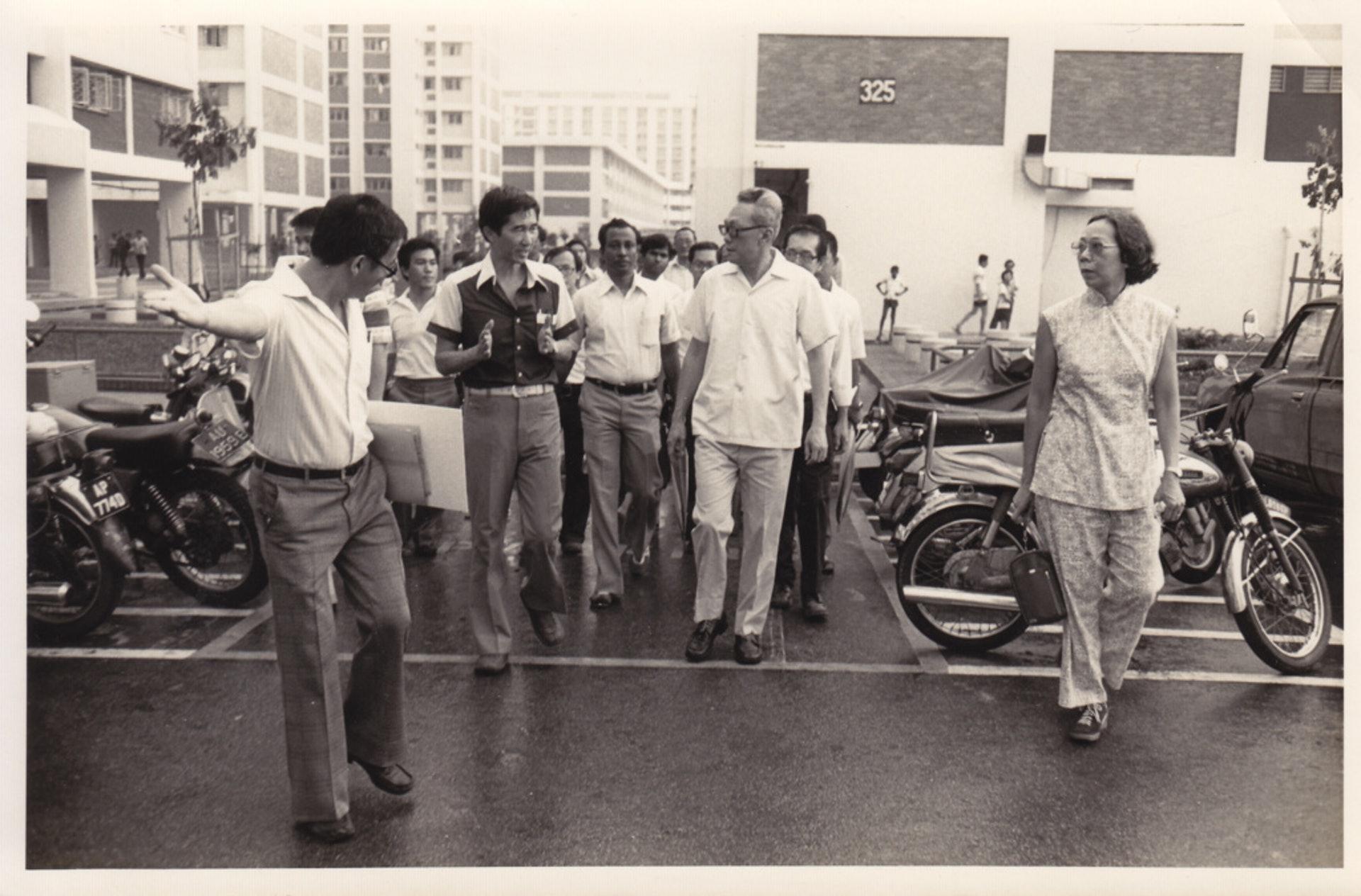 劉太格提到,與已故新加坡總理李光耀共事期間,李從不曾要求興建任何標誌性建築,而是反覆強調要怎樣解決人民生活、土地的問題。(劉太格提供)