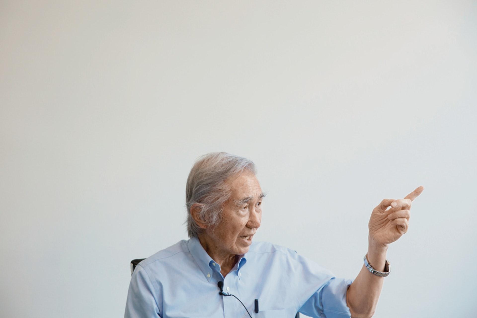 劉太格相信,「一個好的城市規劃,能讓幾十萬、幾百萬人得益。」(羅君豪攝)