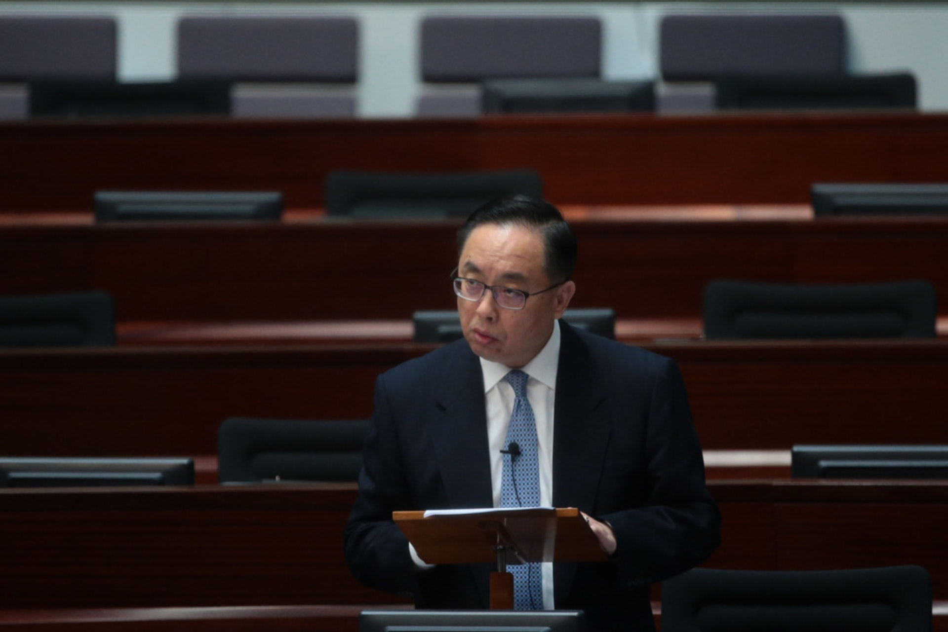 政府推出科技專才培育計劃,楊偉雄稱當局積極吸引及培育頂尖人才。(資料圖片)
