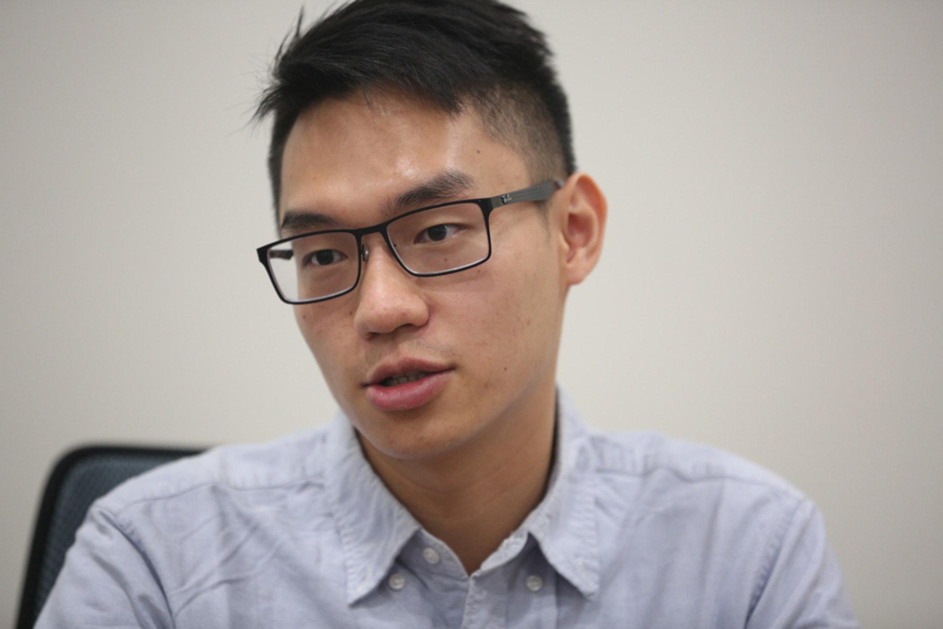 中大博士畢業生劉家駿期望港府可考慮放寛申請公司的要求。(資料圖片)