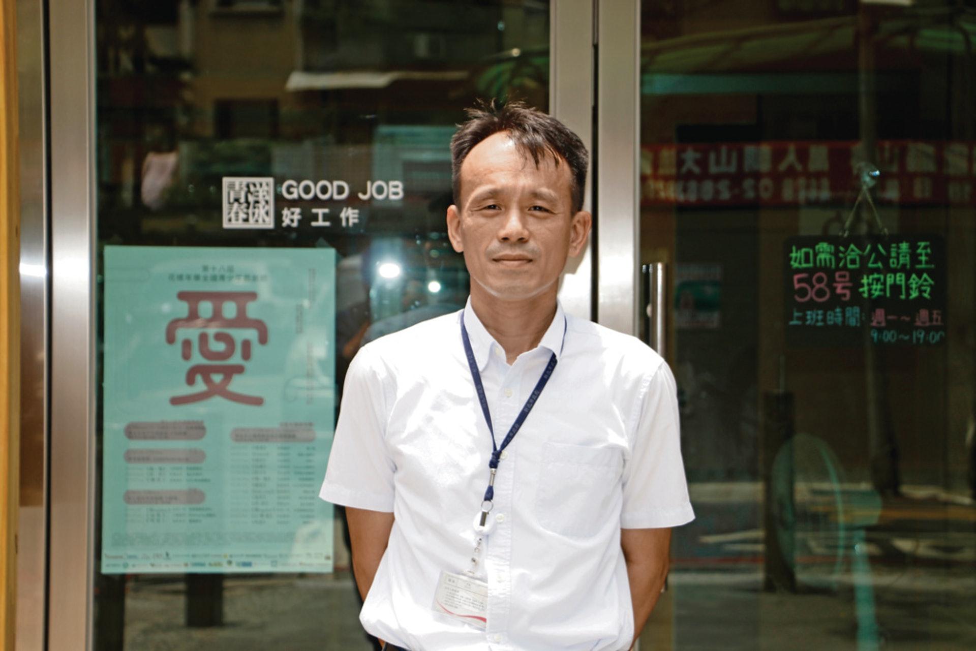台灣新北市城鄉發展局局長鄭健志分享與玖樓團隊合作契機(杜晉軒攝)