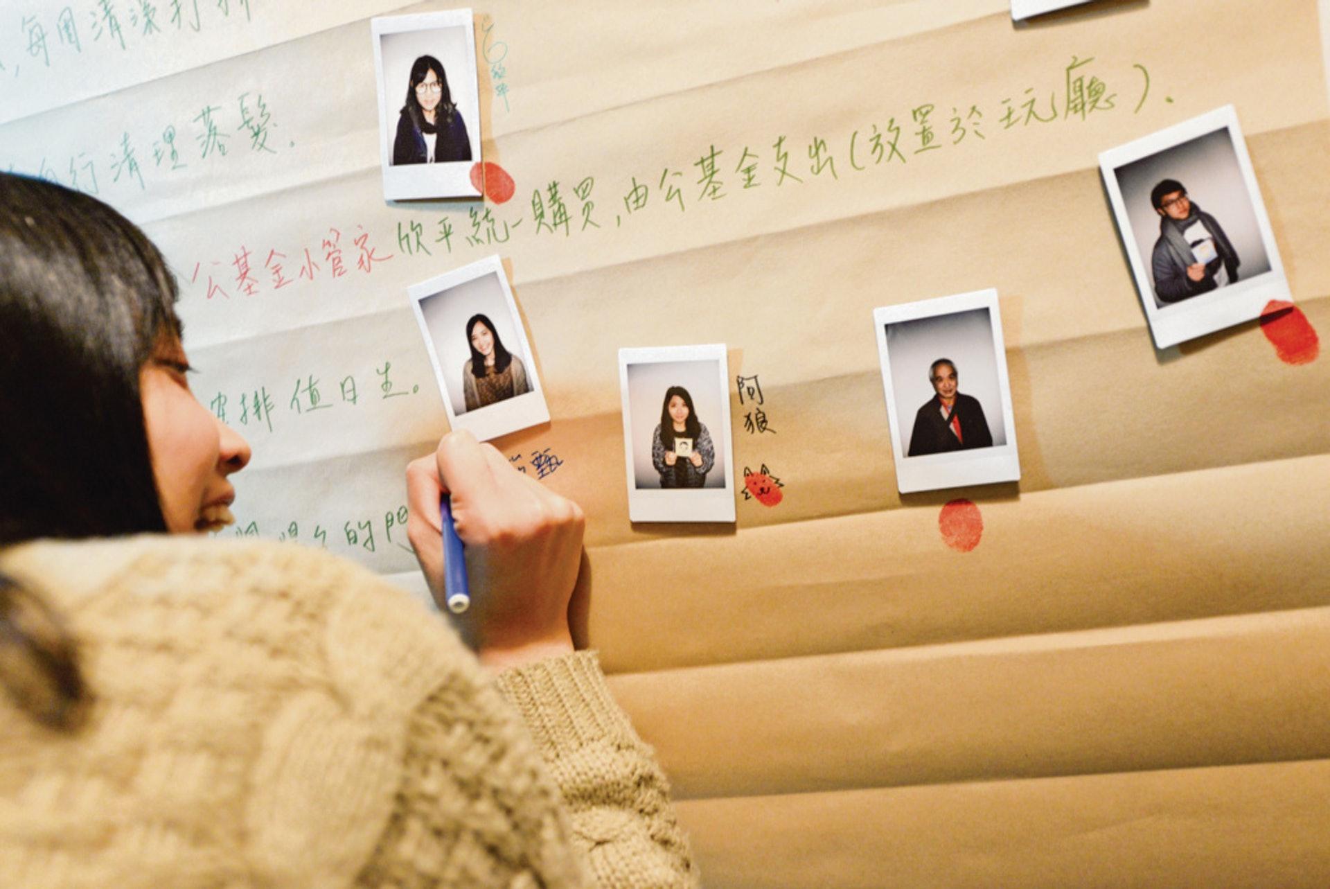何俊傑認為,官商民合作能打破香港土地討論的僵局,而玖樓跟新北市政府實驗的青銀共居也是未來社聯會考慮的方向。(玖樓團隊提供)