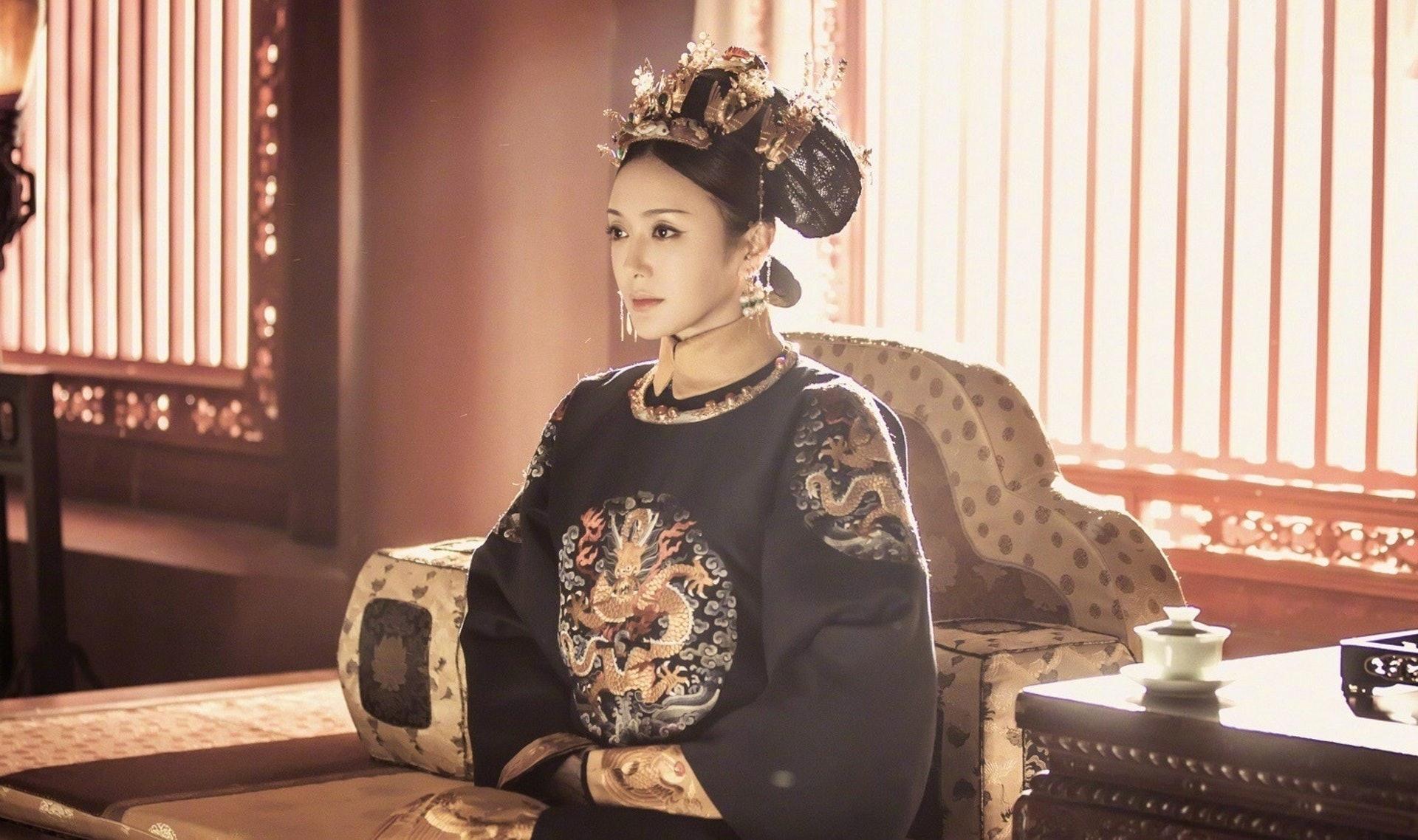 秦嵐飾演的富察皇后深受觀眾愛戴。(《延禧攻略》劇照)