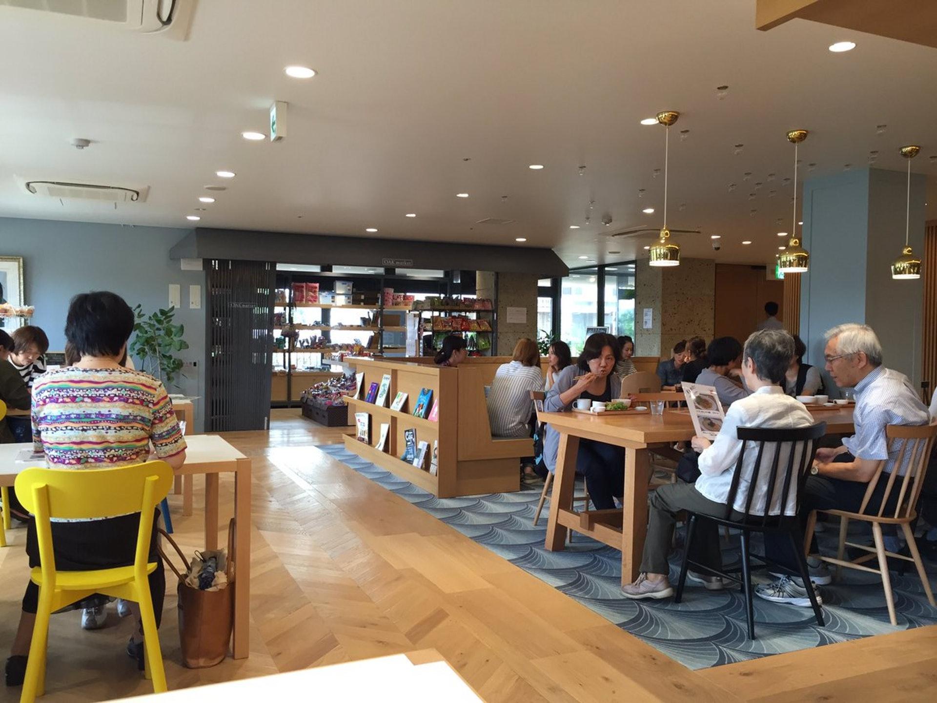 OAK CAFÉ成為了院舍住客、家屬、職員、街坊的「交流空間」。(圖片來源:fukushi_uragi Twitter)