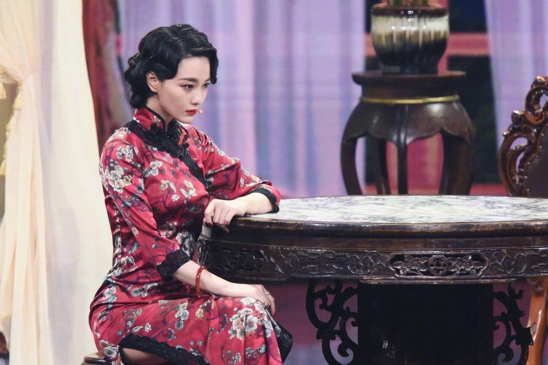 張馨予飾演的姐姐被章子怡批評。(網上圖片)