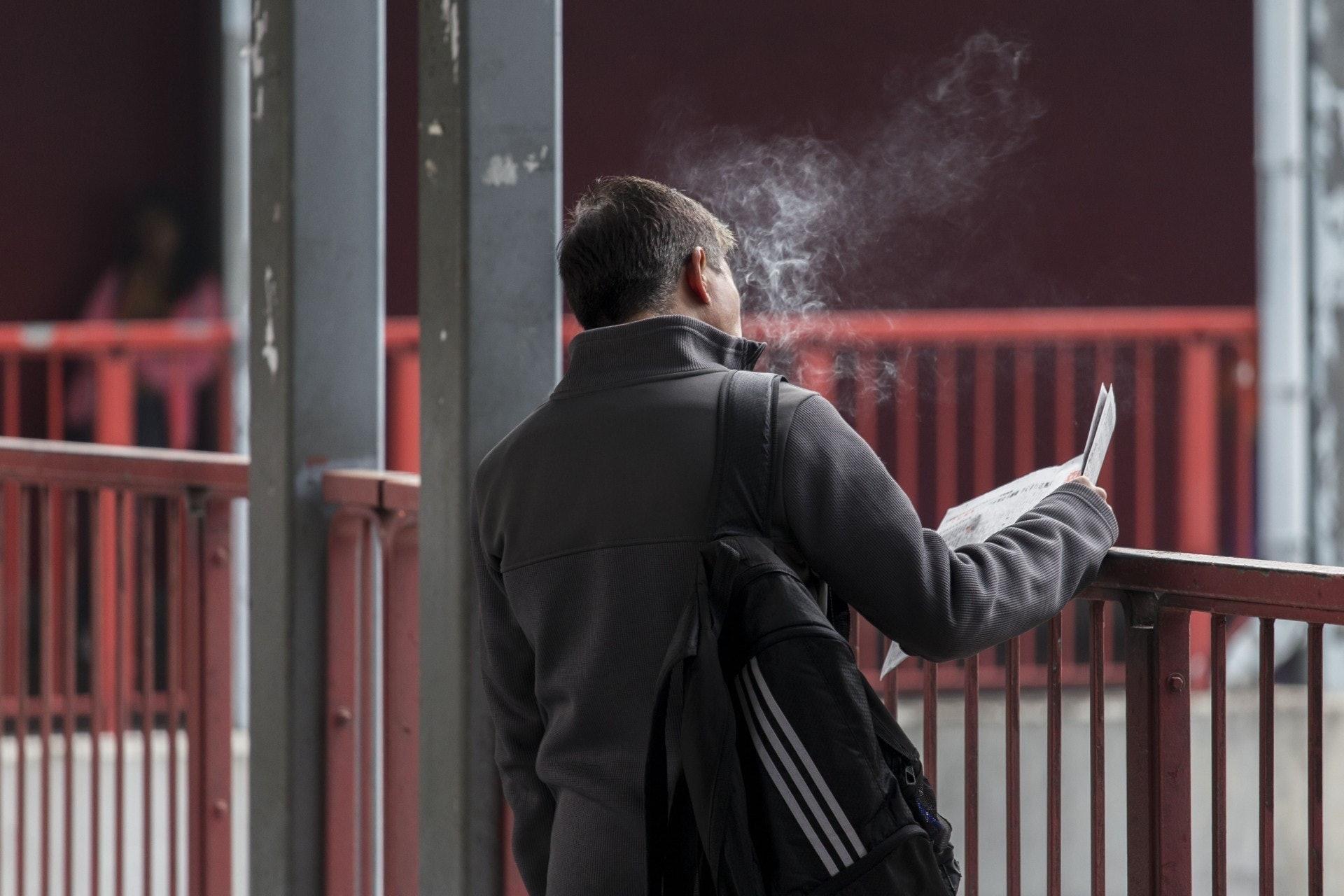 有组织访问了一千名市民对新型烟产品的看法。 (资料图片)