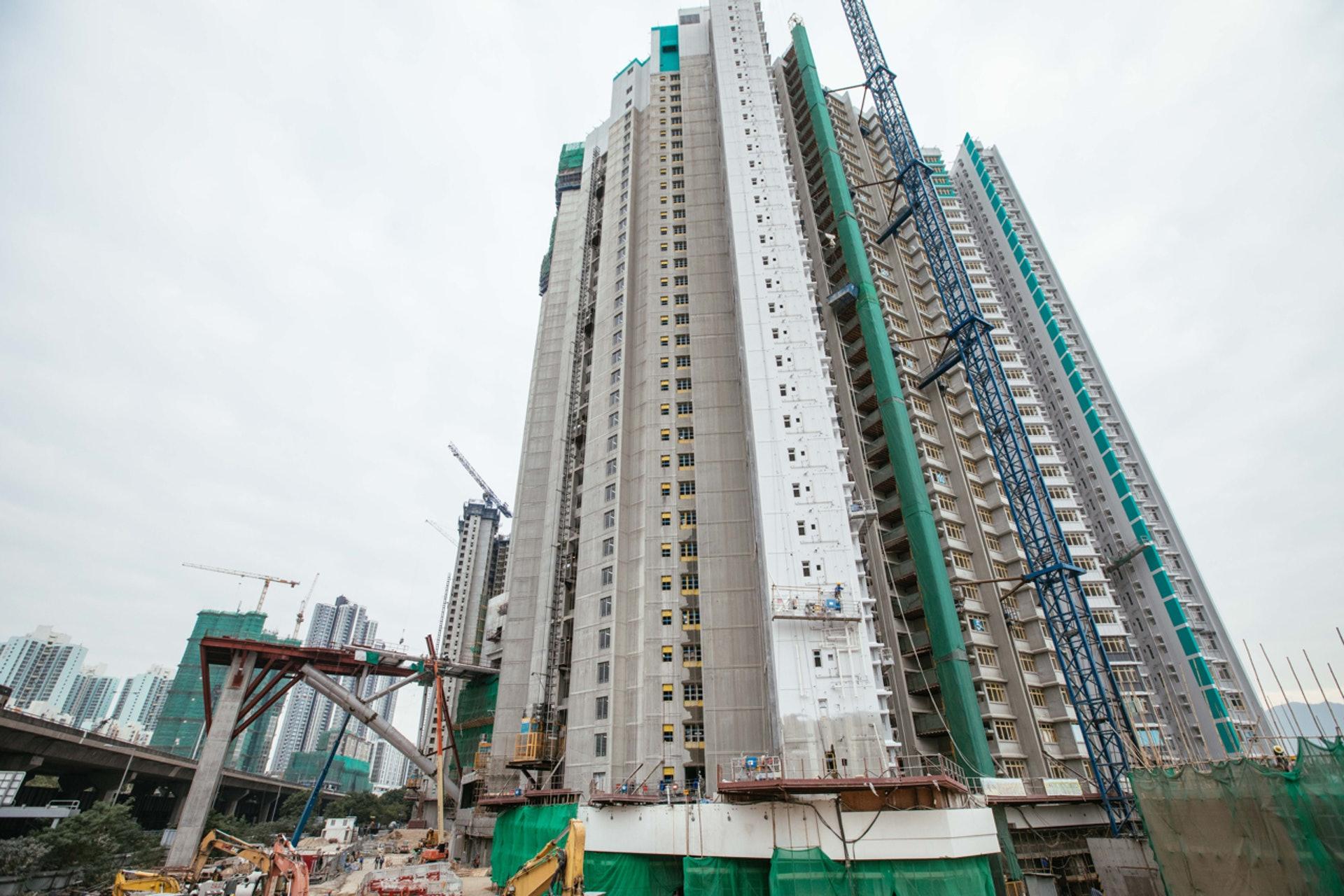 長沙灣凱樂苑提供2,522個單位,是今期居屋中最多單位的一個項目。(資料圖片 / 盧翊銘攝)