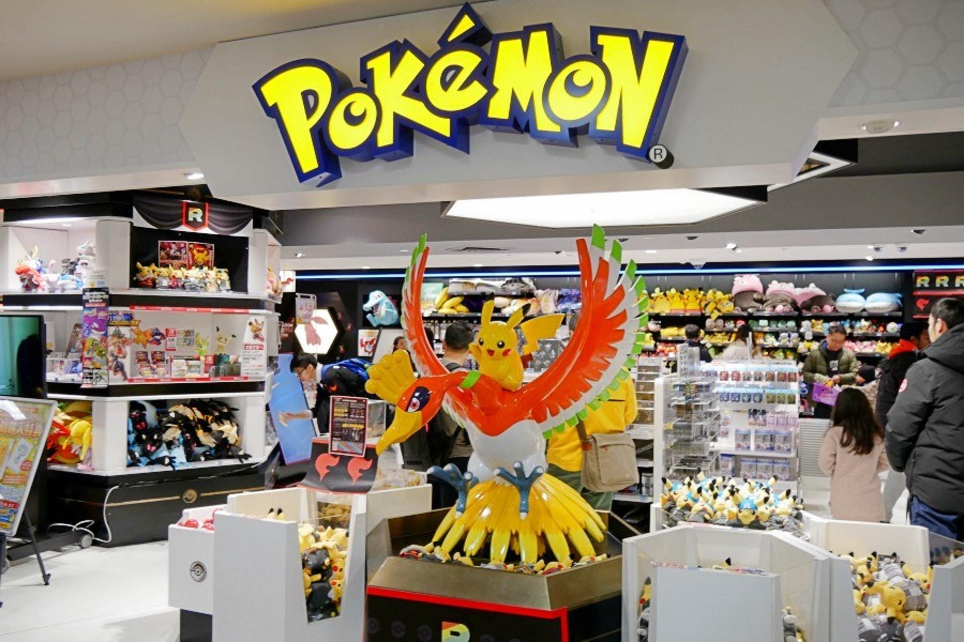 位於高島屋五樓的Pokemon Center是寵物小精靈的專賣店(KKday)