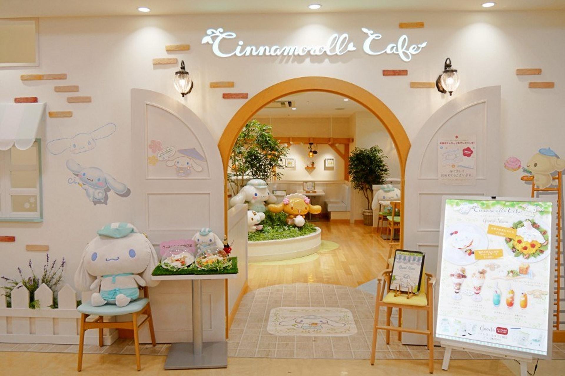 超可愛的Sanrio Cinnamoroll主題餐廳。(KKday)