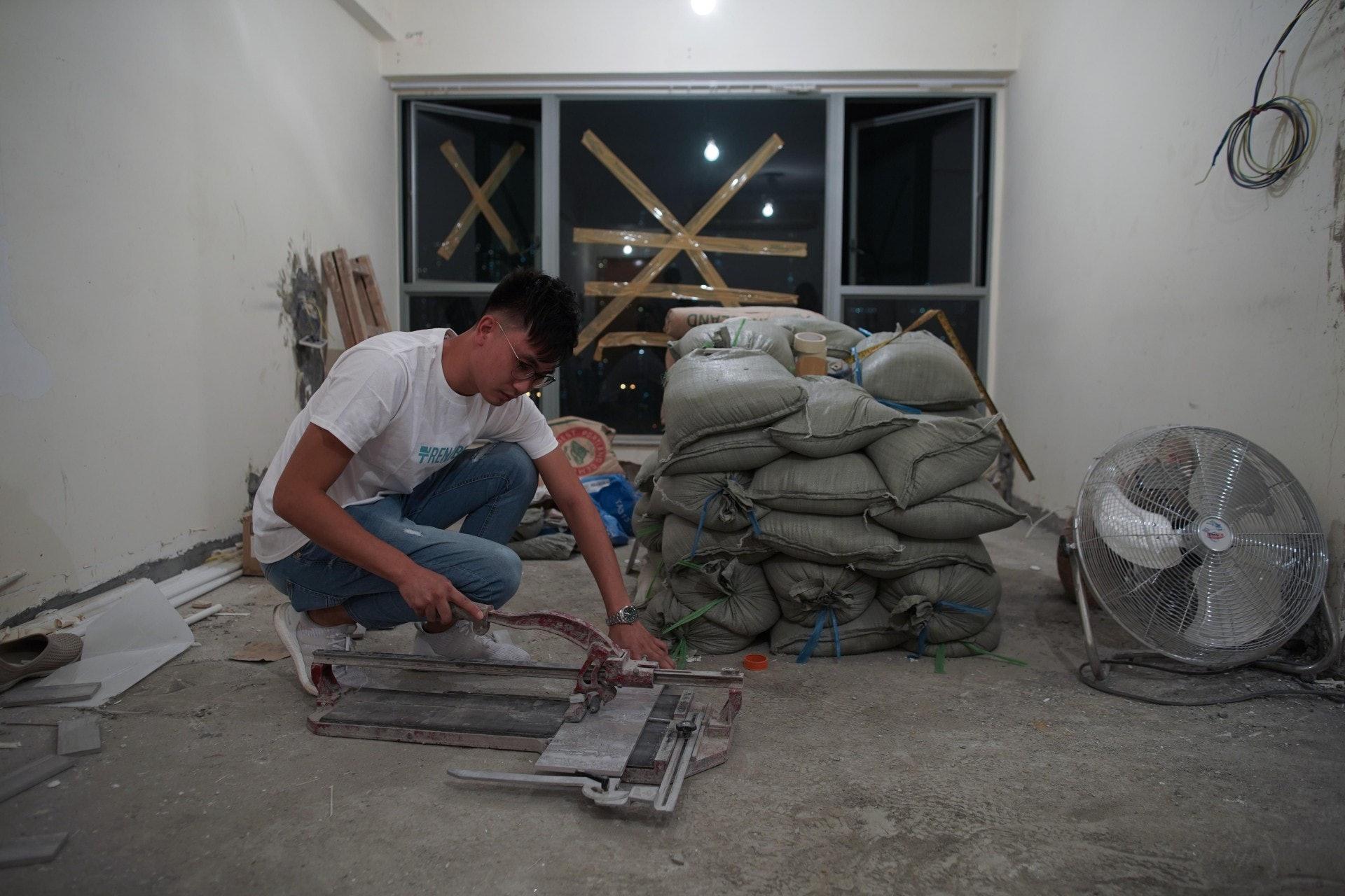 Rico表示今時今日做裝修,要隨着社會進步而提高服務質素。(梁鵬威攝)