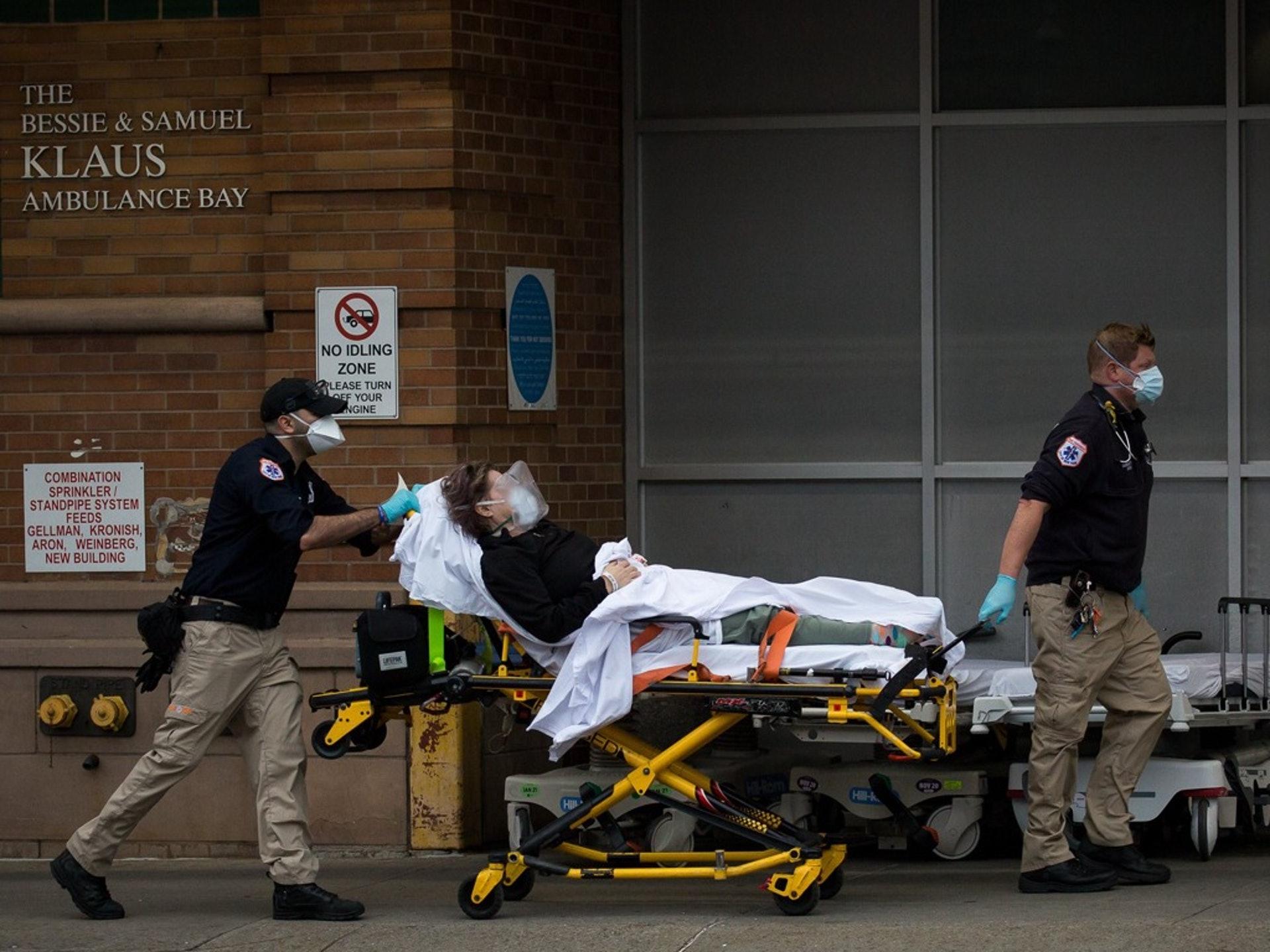 纽约疫情告急 医院却将遭州长削减4亿美元预算