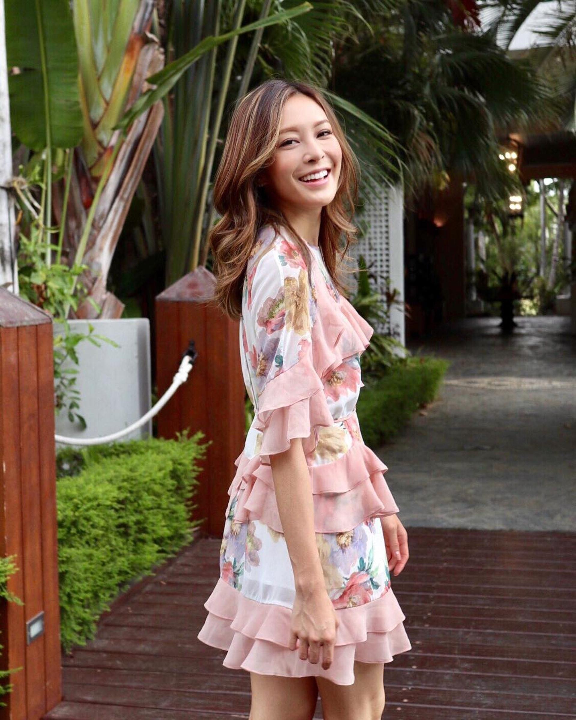 張曦雯(Kelly)熱愛印花服裝。(kelllycheung@Instagram)