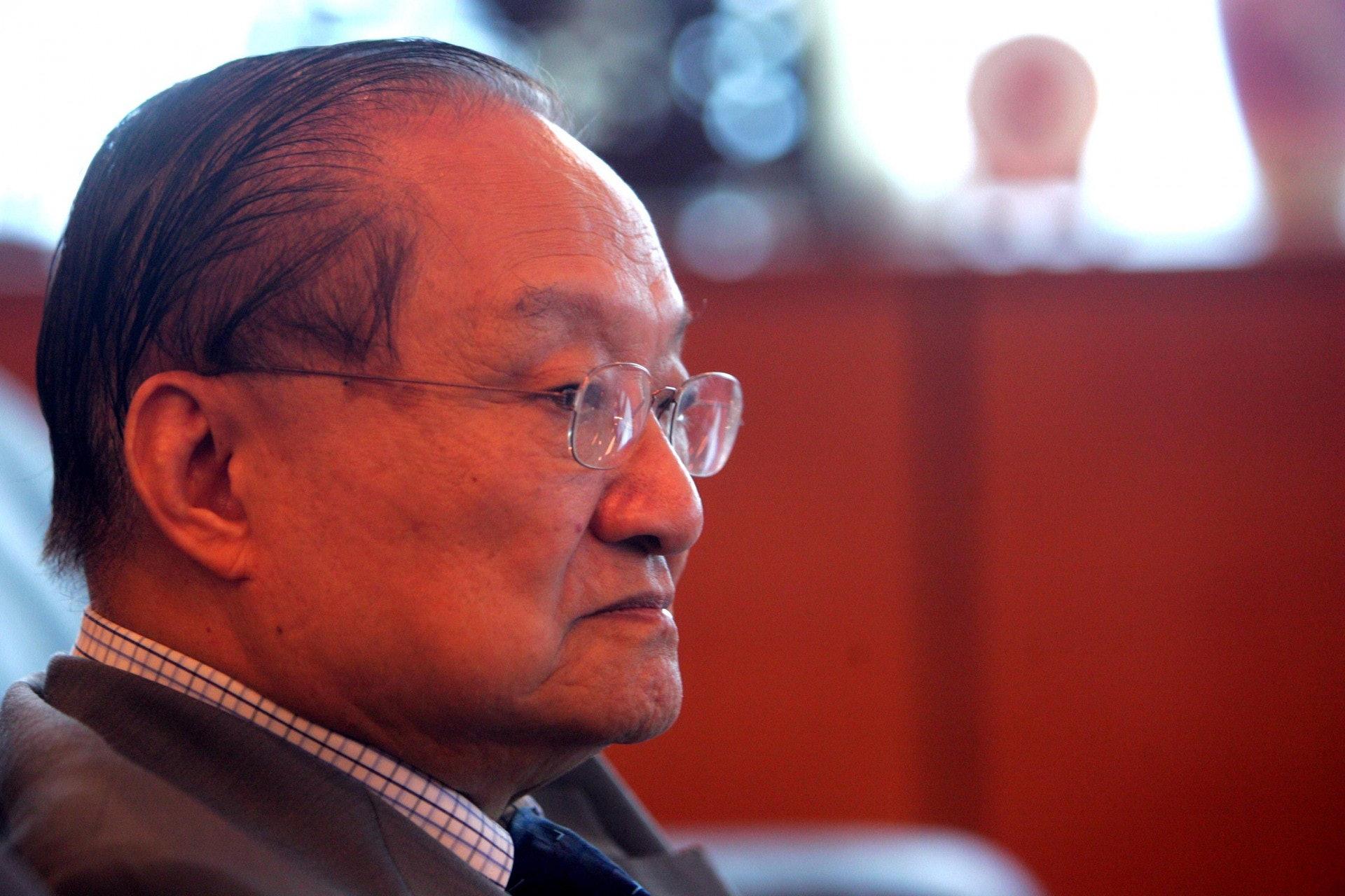 查良鏞先生10月30日病逝,享年94歲。(VCG)