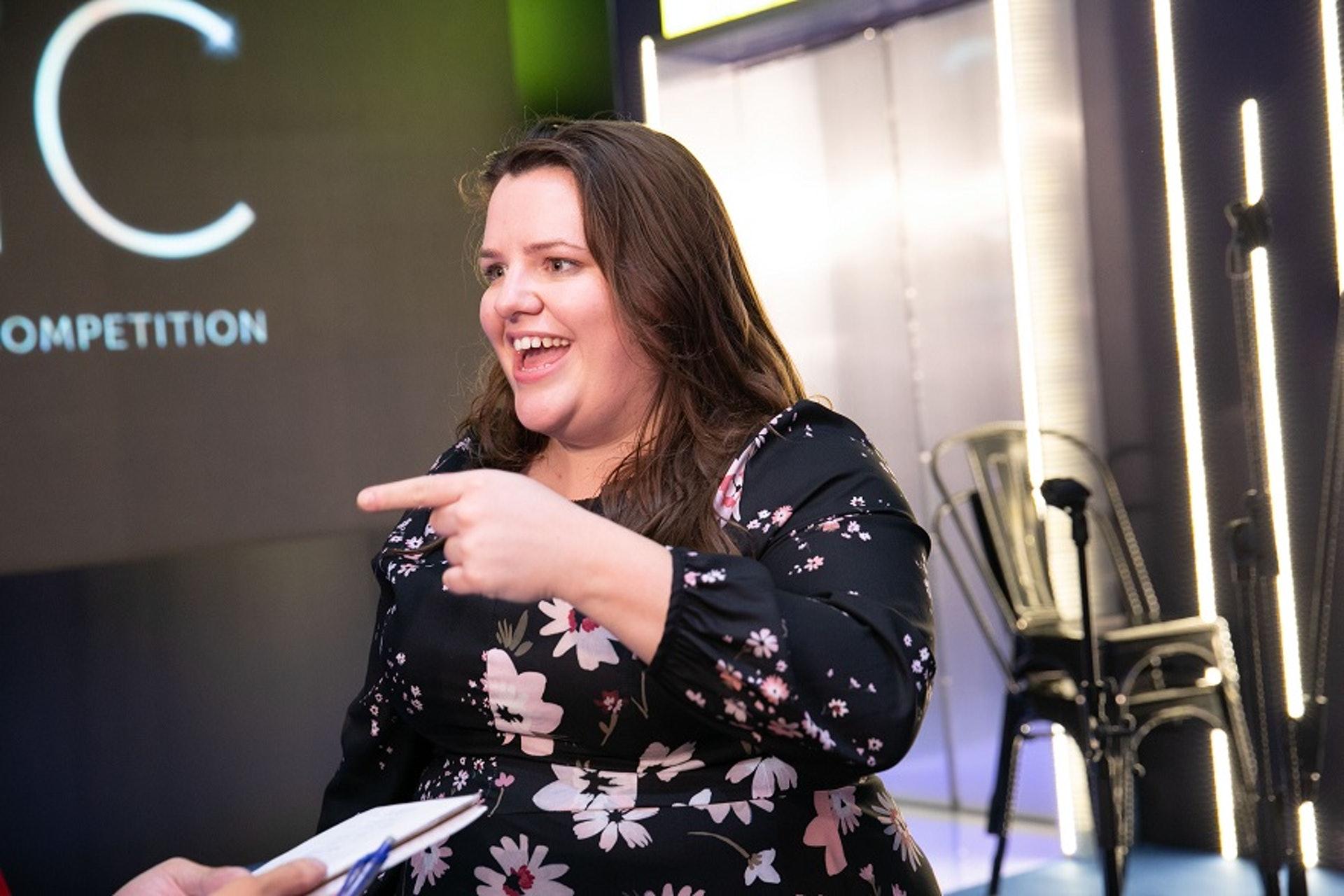 以診斷白內障技術贏得健康老齡化組別大獎的創企VisusNano創辦人Joanna Gould,笑言會把獎金用在日後的技術研發上。有意再來香港一趟嗎?「當然會,不過下次是要為旅行而來啊!」