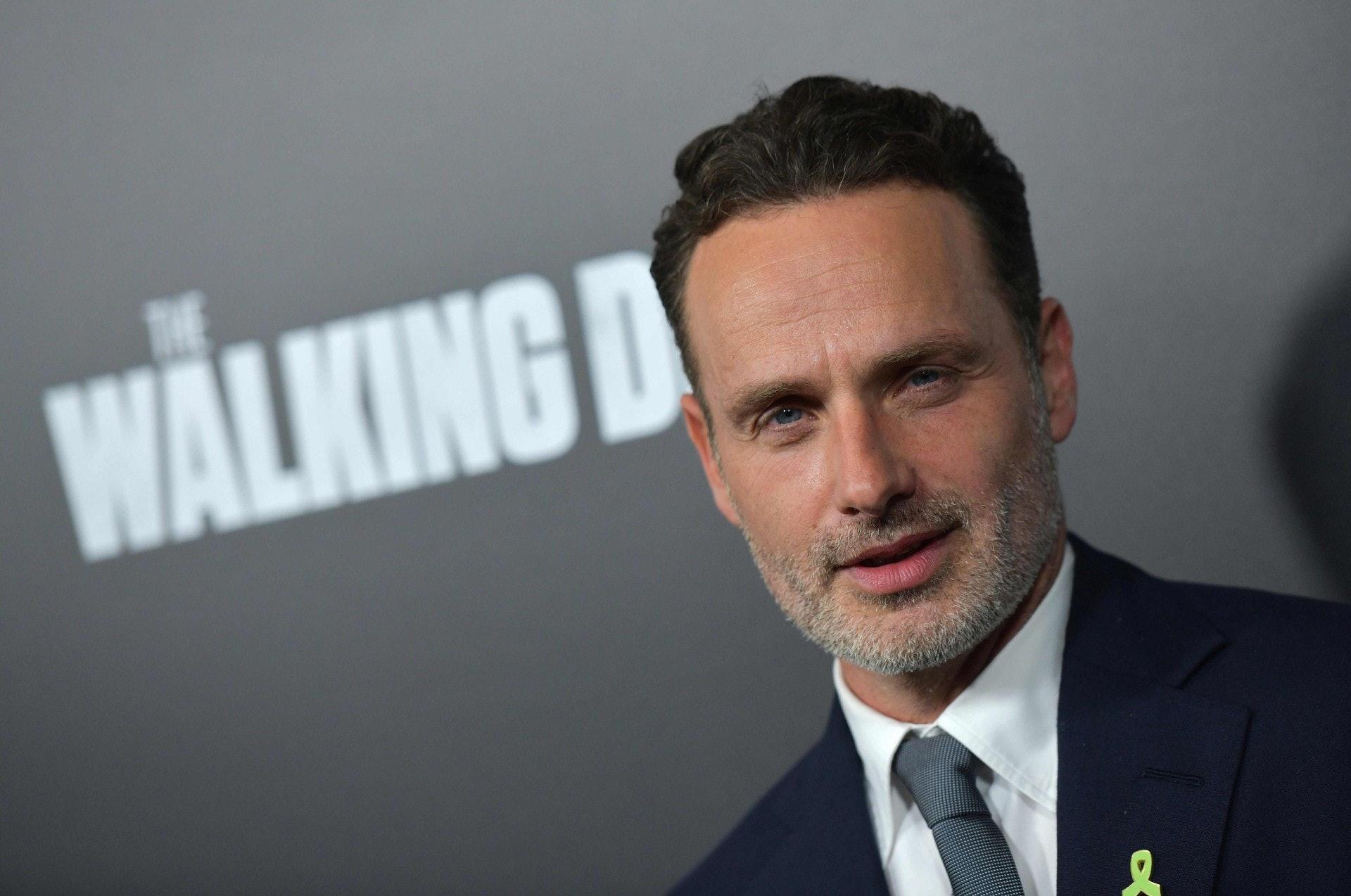 Andrew Lincoln憑藉《The Walking Dead》首次登榜,總收入1100 萬美金(約8630萬港元)。(視覺中國)