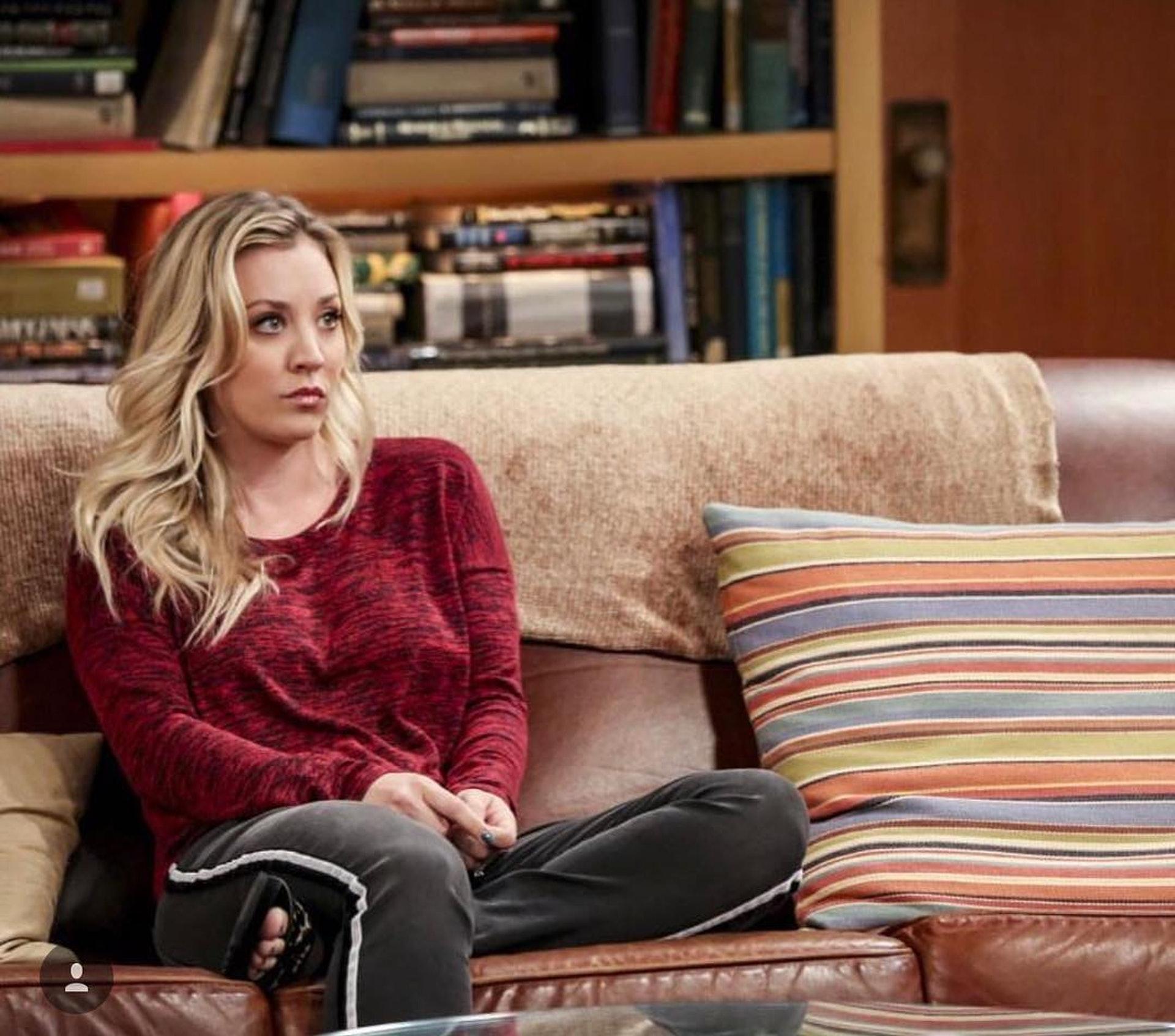 在《the Big Bang Theory》中飾演Penny的Kaley Cuoco95%的收入都來自拍劇,以2450 萬美金(約1.92億港元)位居第二。(IG圖片)
