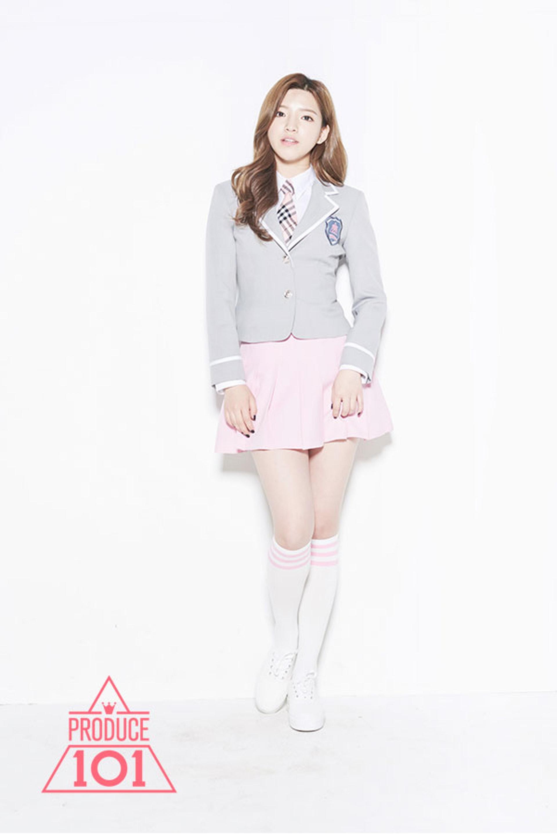港韓混血兒吳恩佳曾參加選秀節目《Produce 101》Season 1和《MIXNINE》追逐韓星夢,可惜均未能成功進入決賽。(網上圖片)