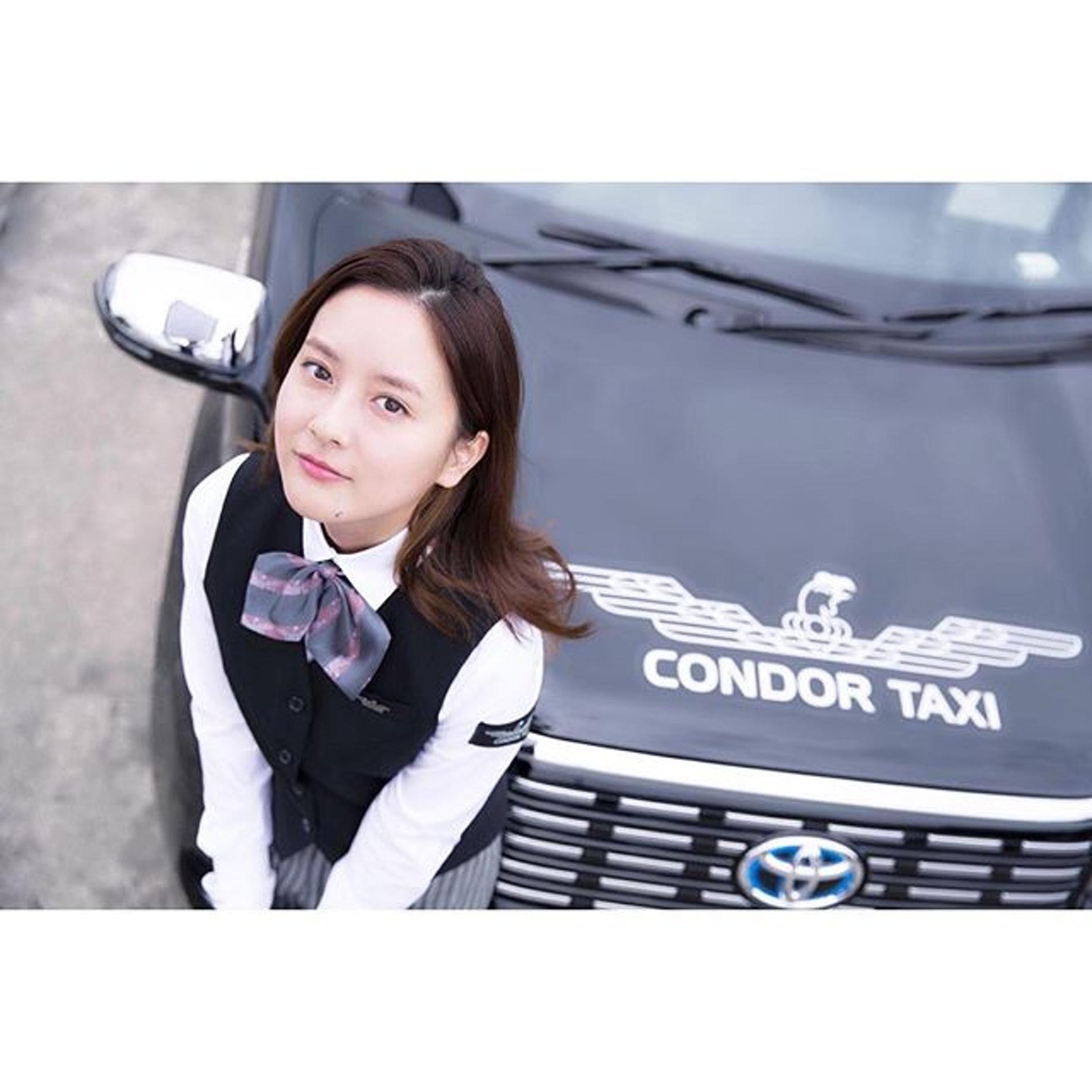 26歲的生田佳那,被譽為全日本最美的士司機,遊日朋友可能會在東京遇上她。(IG圖片)