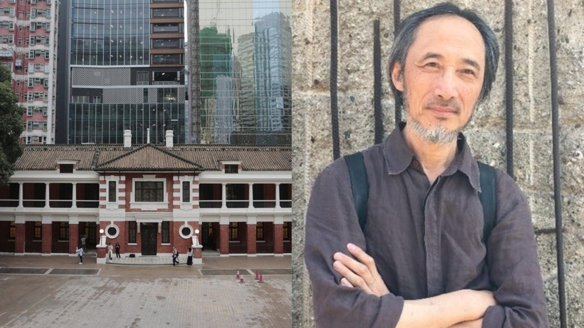 流亡海外的中國異見作家馬建,於周六在「大館」出席兩場香港國際文學節講座,但臨時被取消。(資料圖片)