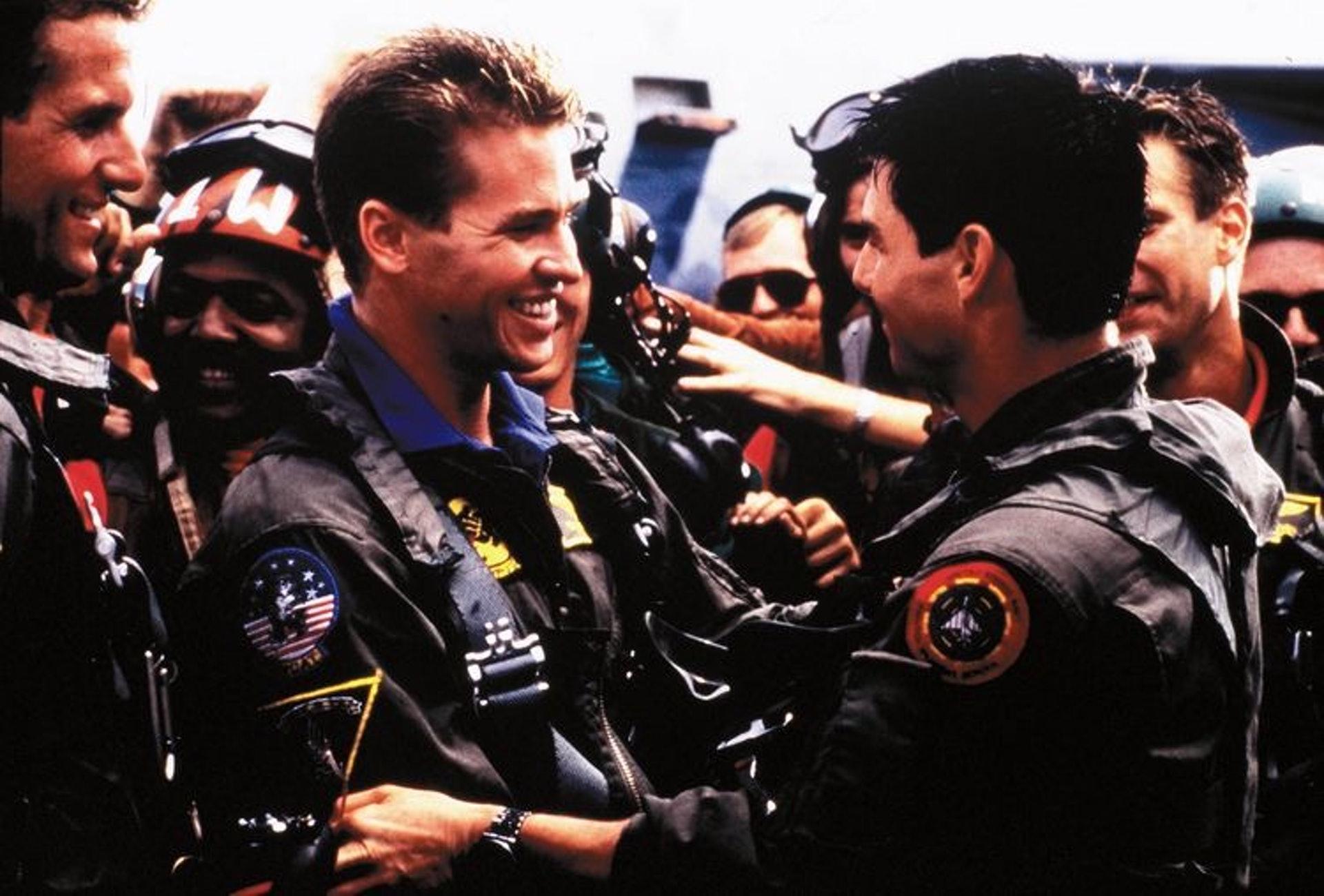 Maverick及Iceman亦將續拍《壯志凌雲2》。(網上圖片)