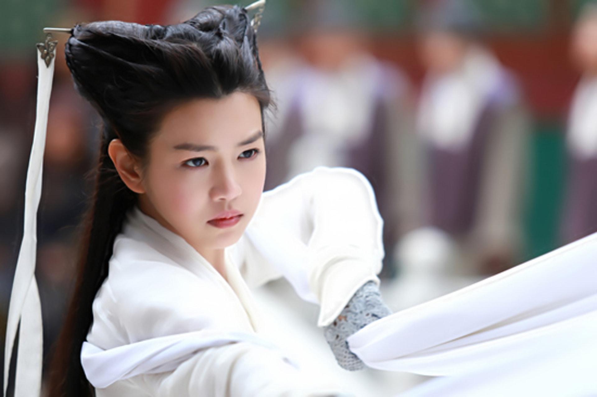 被稱為「小籠包」的陳妍希版的小龍女。(網上圖片)