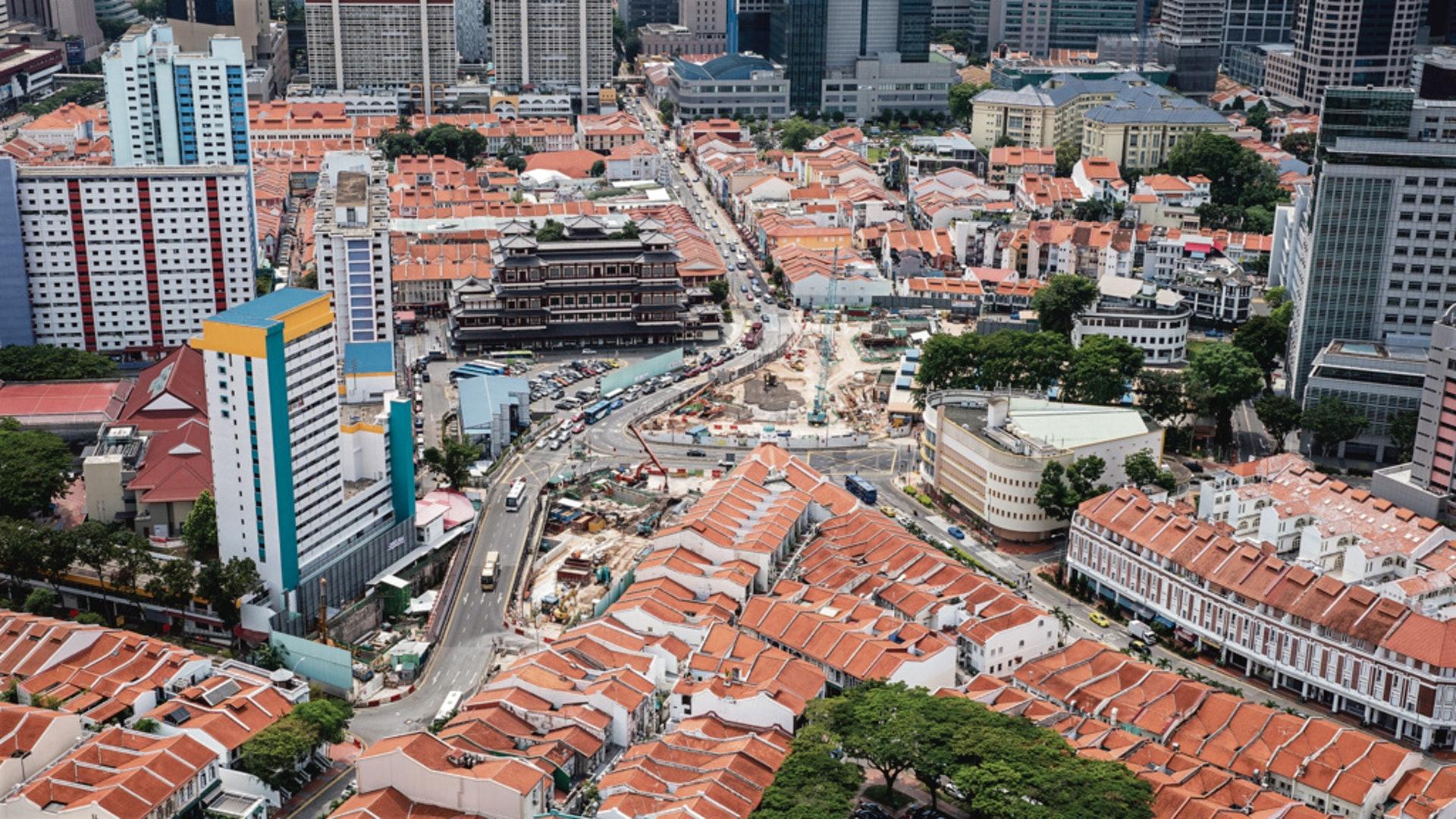 不少人認為港府可向新加坡組屋政策借鏡。(羅君豪攝)
