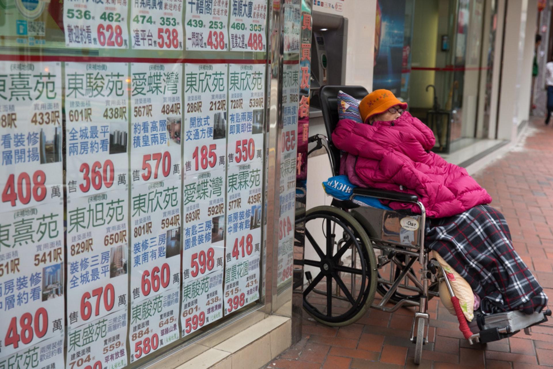 香港社會面臨人口及樓宇的「雙老化」,房協未來工作重點亦會側重於此兩方面。(林若勤攝)