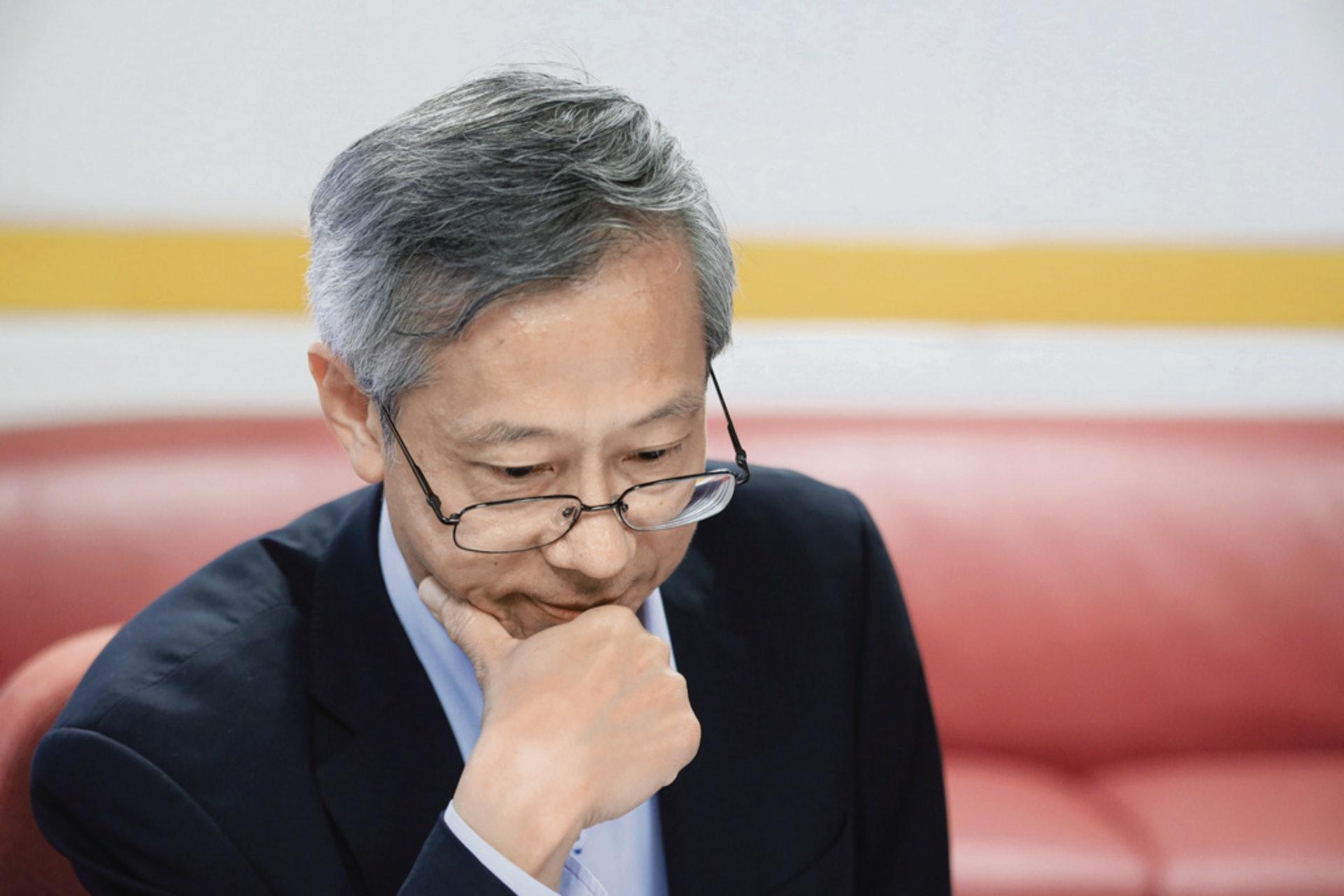 陳家樂是二十年香港房屋政策制訂的主要參與者,推動訂立了對房屋政策有深遠影響的居屋第二市場。(梁鵬威攝)
