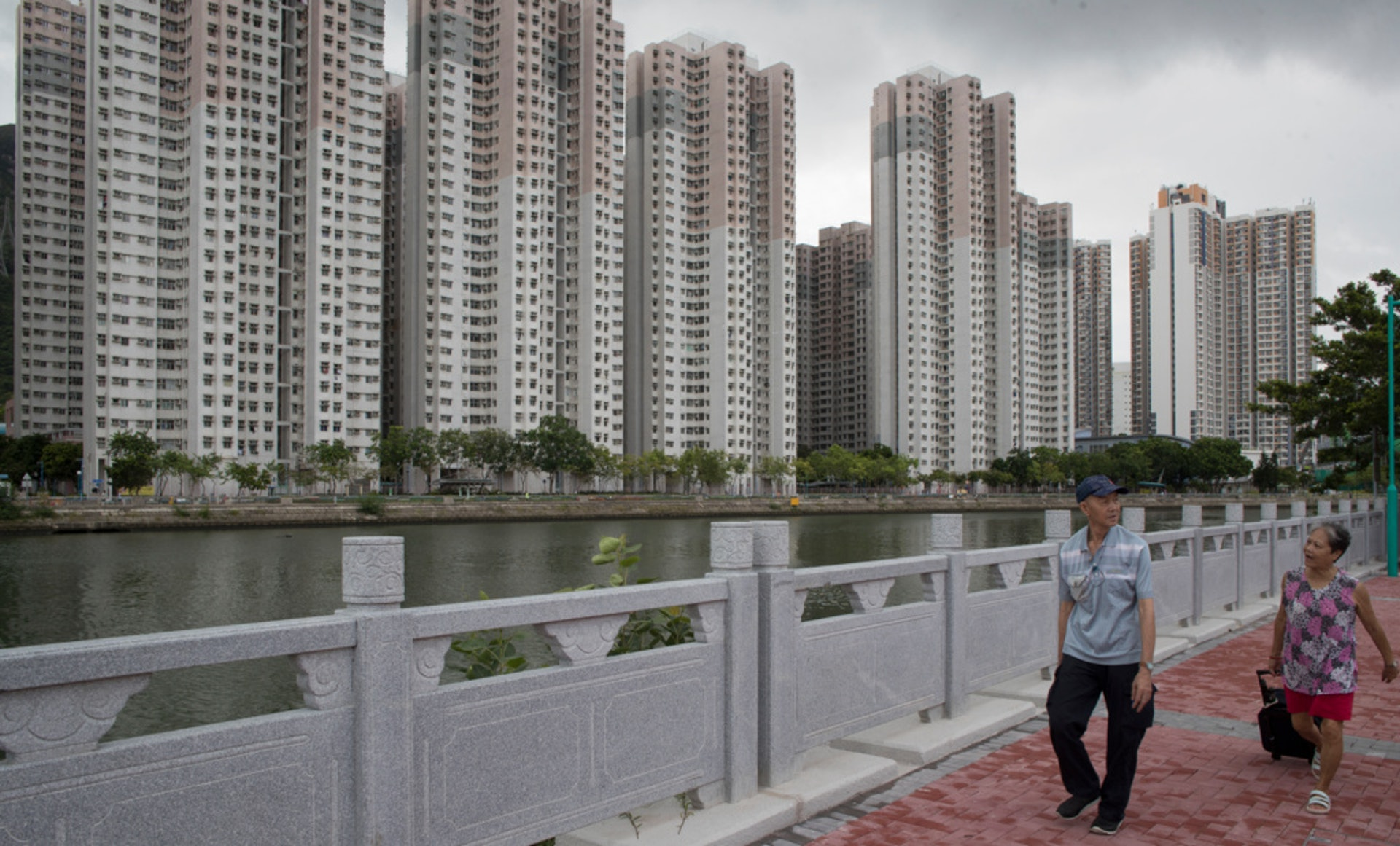 陳家樂認為增加資助房屋的流轉,是對市場有正面作用。(余俊亮攝)