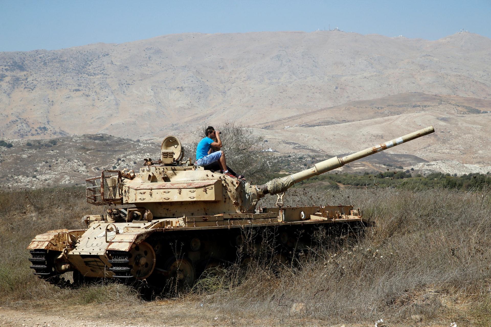 戈蘭高地乃以色列及敘利亞之間具爭議的土地,自1967年起就由以色列實際掌控。(路透社)