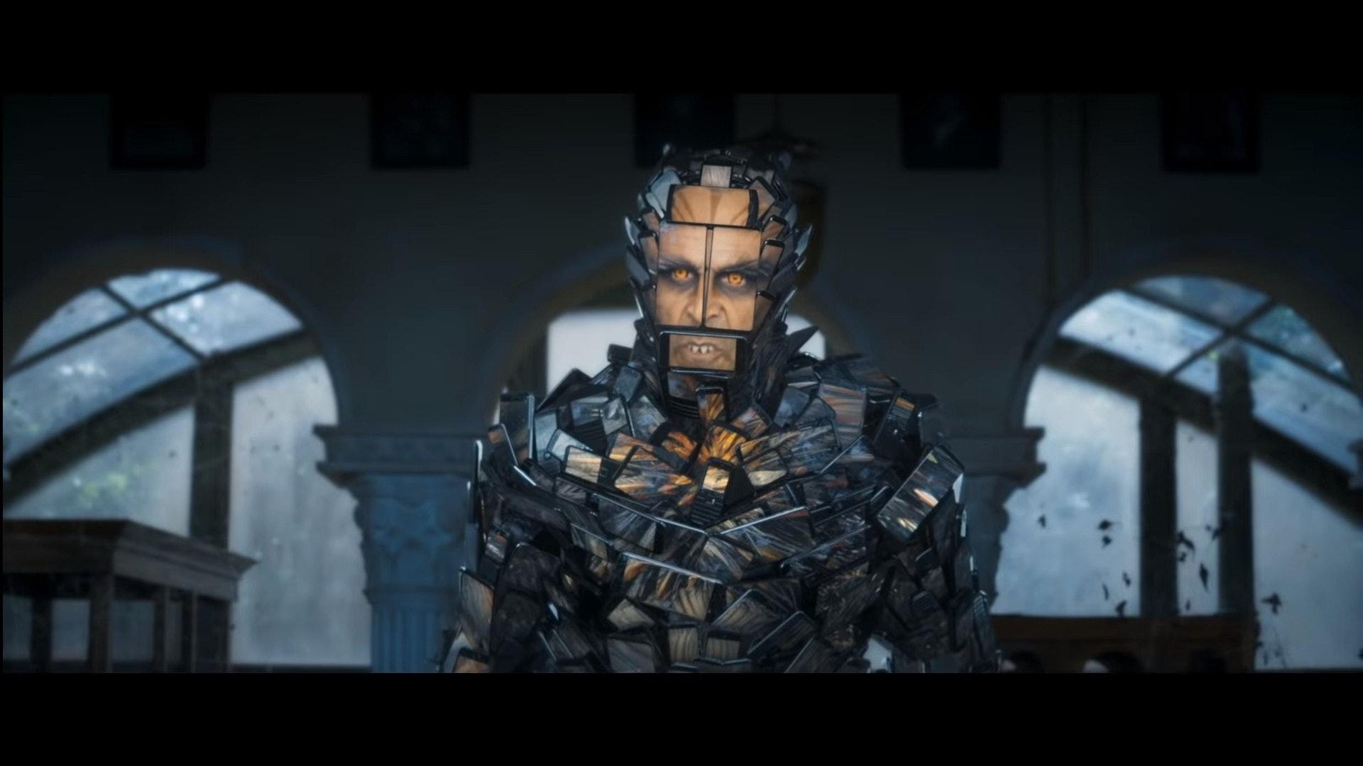 奸角Pakshi Rajan由「印度成龍」Akshay Kumar飾演,陣容強勁!(影片截圖)