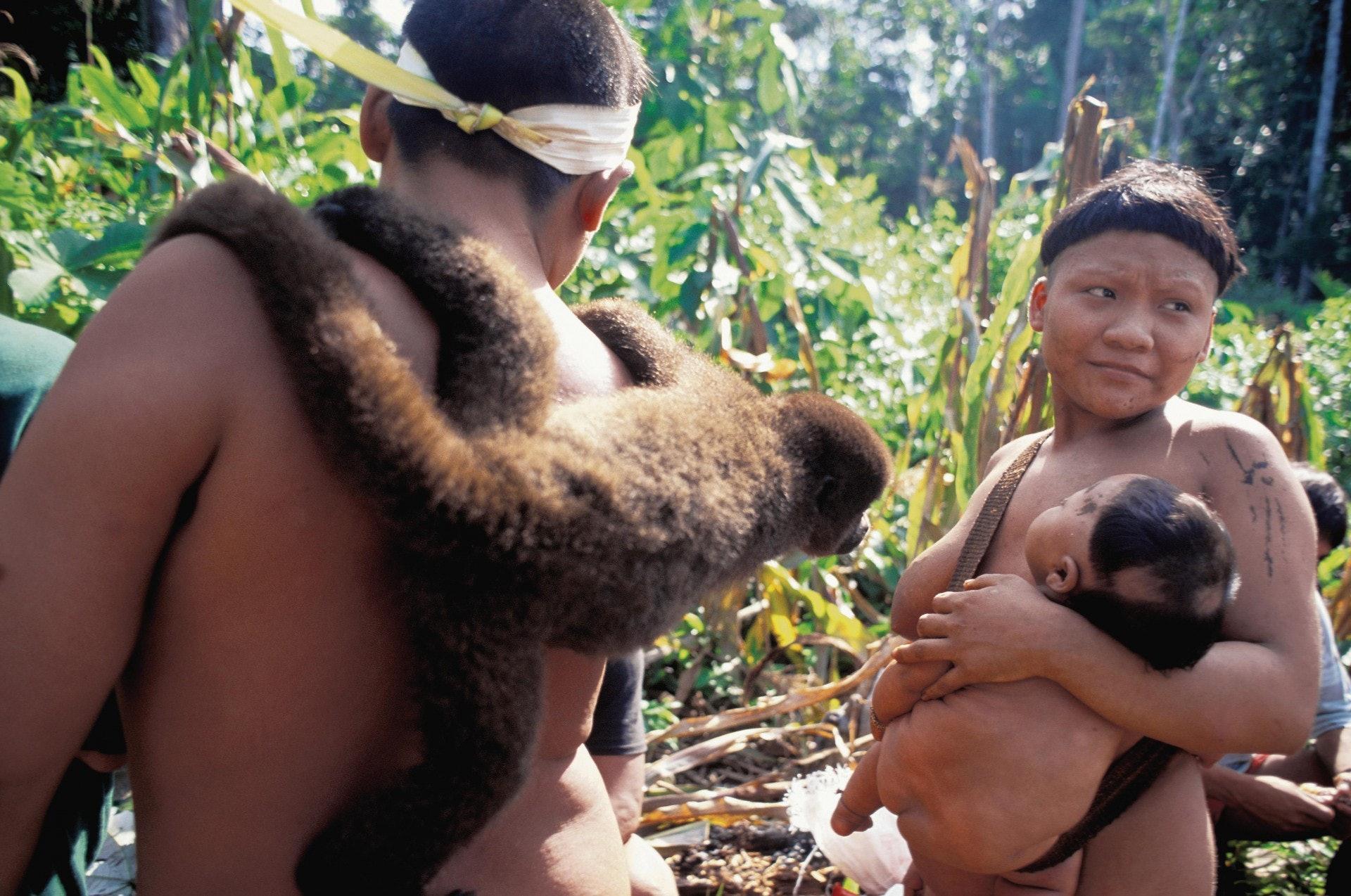 主動接觸土著會否為他們帶來滅族性的危機呢?現代文明的成果應否進入叢林,改善土著部落的生活?(Getty Images)