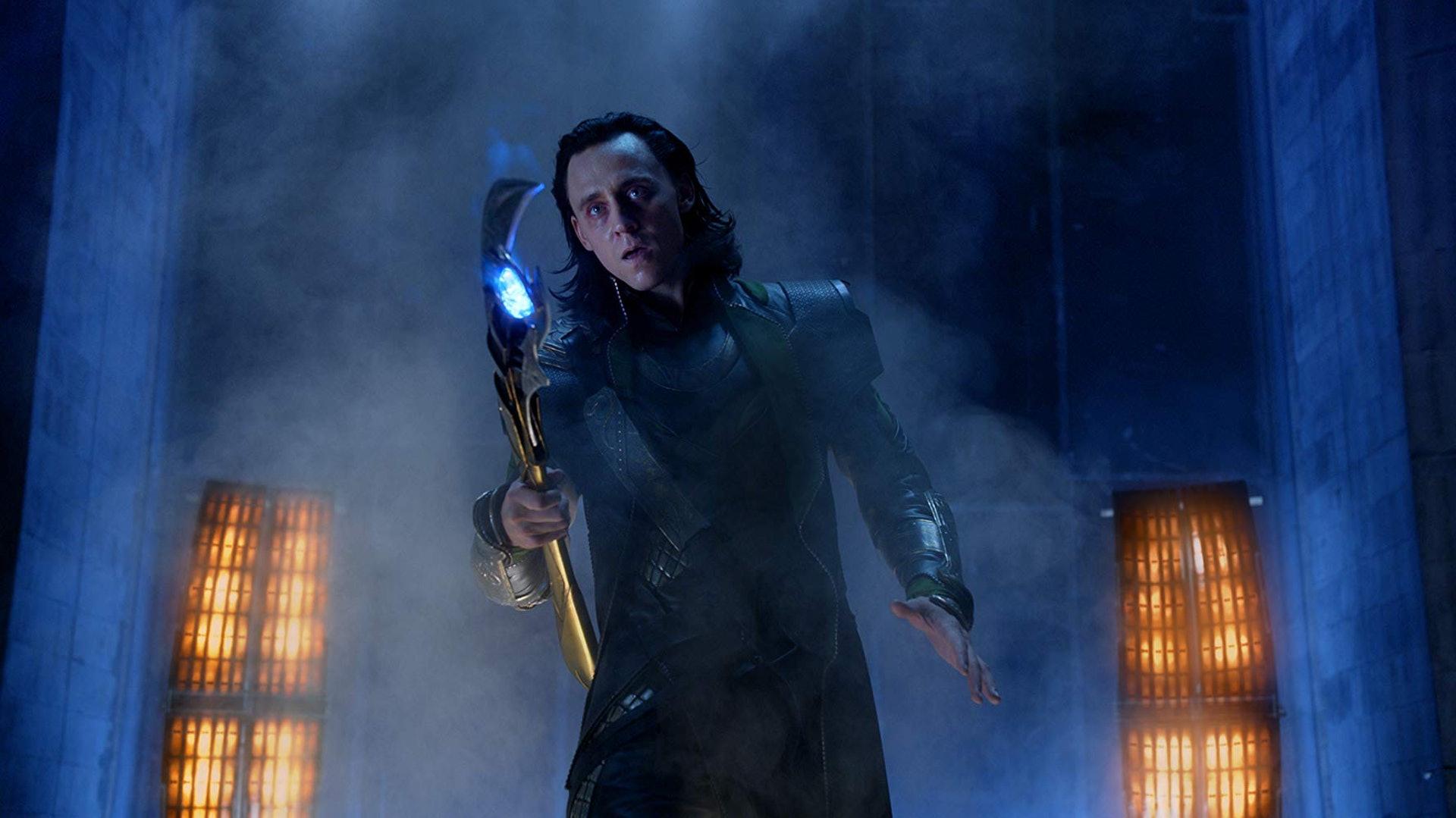 湯姆希德斯頓(Tom Hiddleston)扮演的洛基